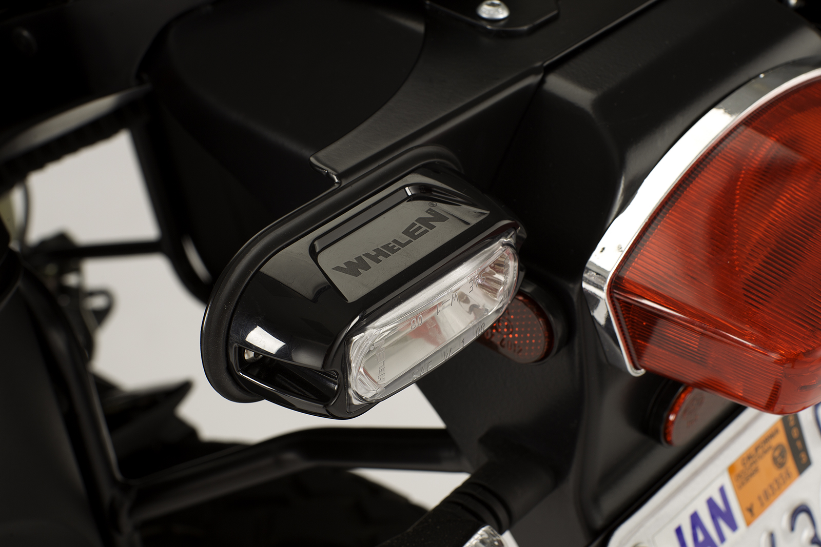 2012 Zero DS Police Motorcycles: Whelen LINZ 6 rear facing LED