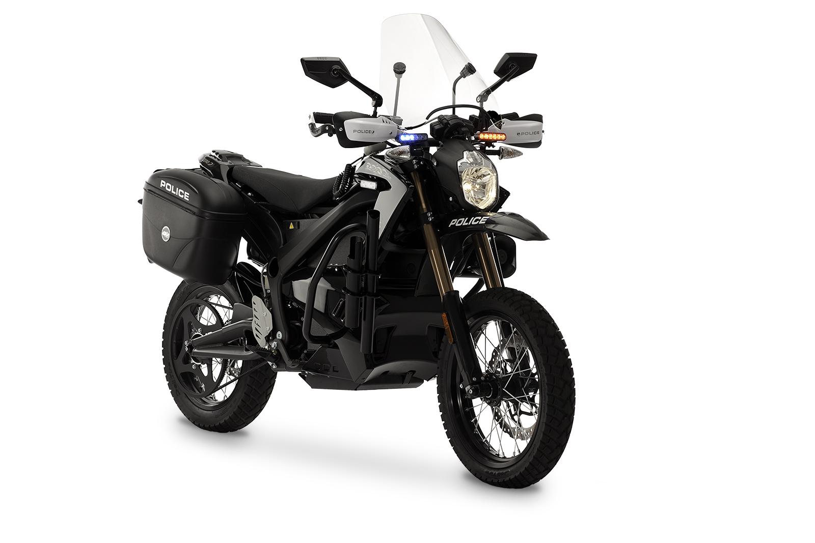2012 Zero DS Police Motorcycles: Angle Left