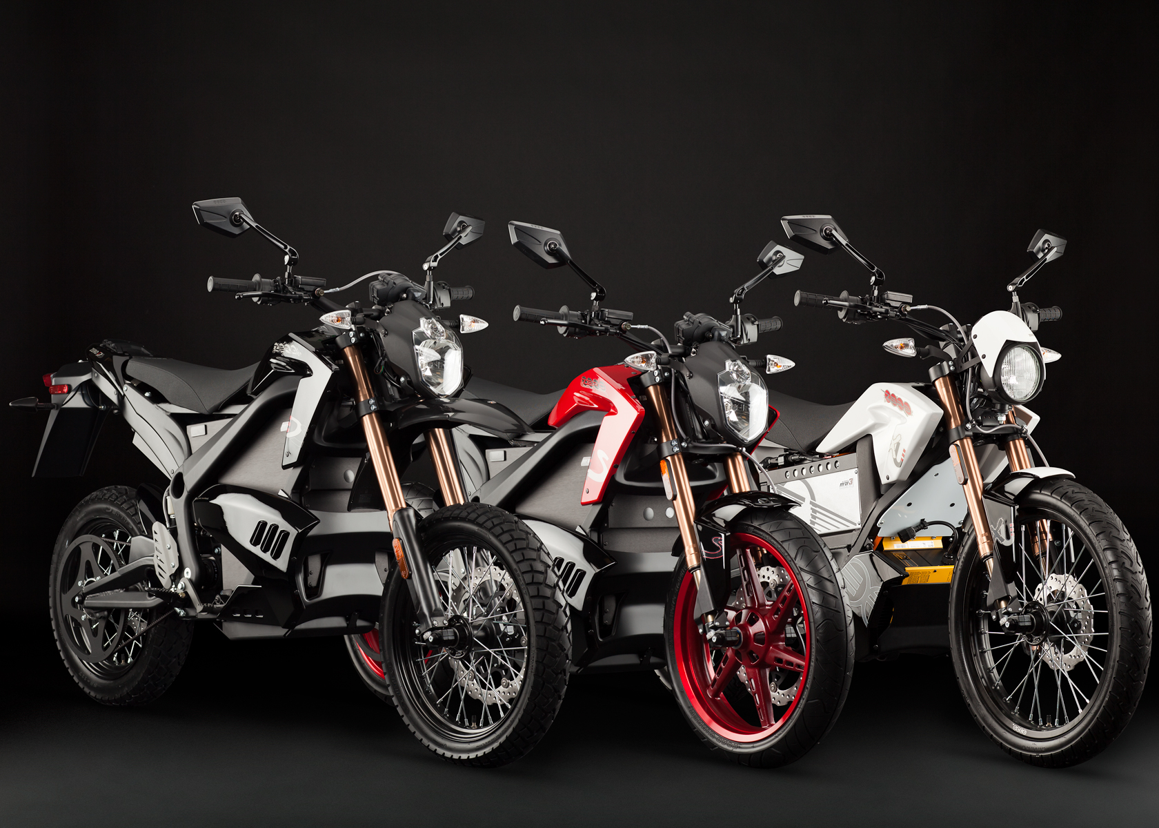 2012 Zero Motorcycles: Product Line