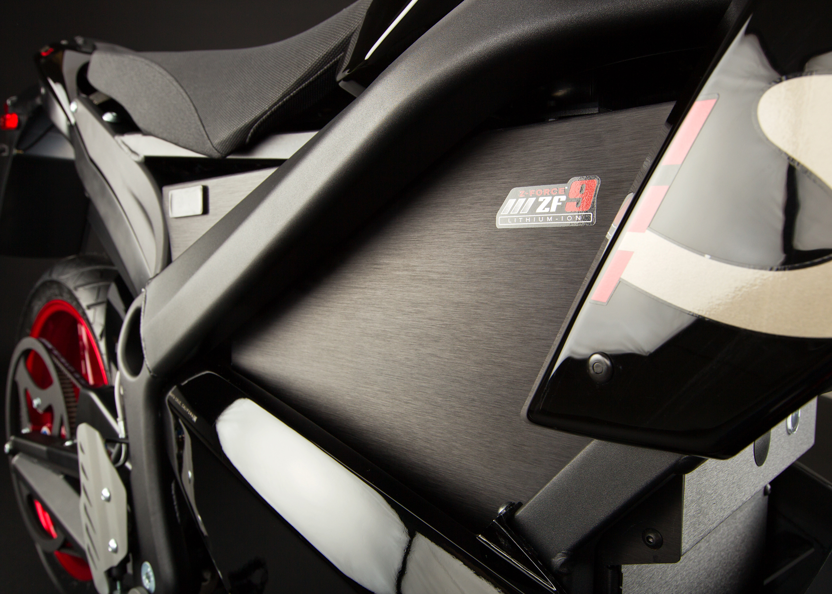 2012 Zero S Electric Motorcycle: Battery