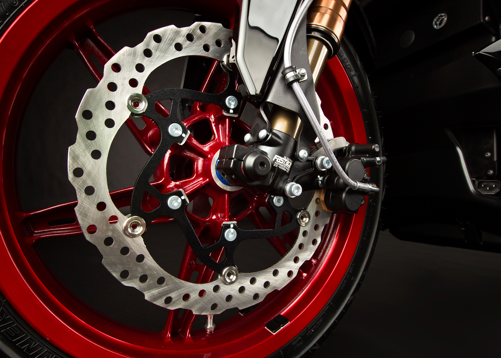 2012 Zero S Electric Motorcycle: Front Brake
