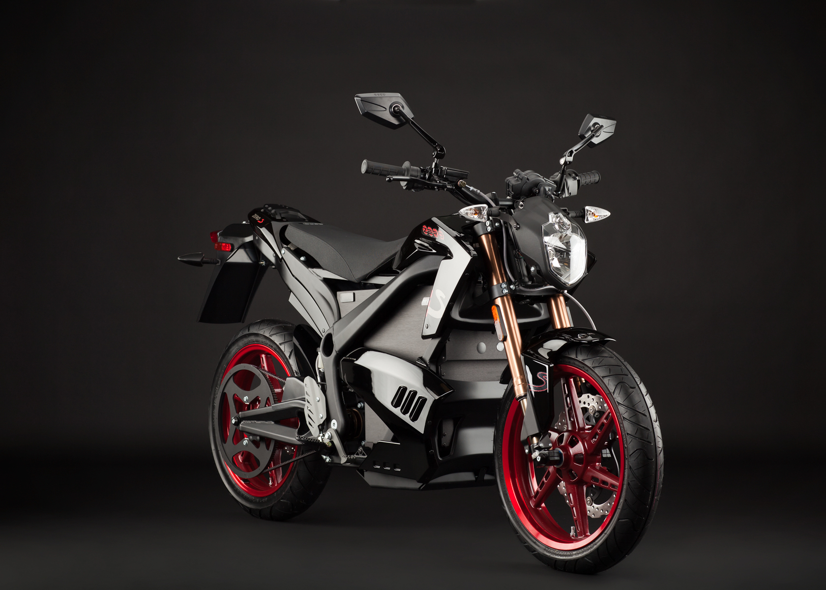 2012 Zero S Electric Motorcycle: Angle Right