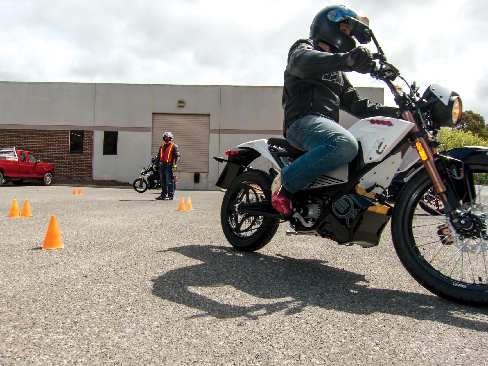 2012 Zero XU Training Motorcycle: MSF Training