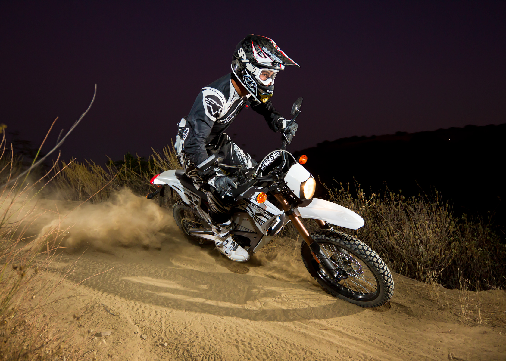 '.2012 Zero X Electric Motorcycle: Dirt Track.'