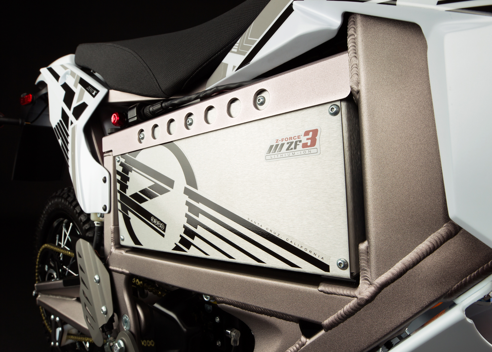 '.2012 Zero X Electric Motorcycle: Battery.'