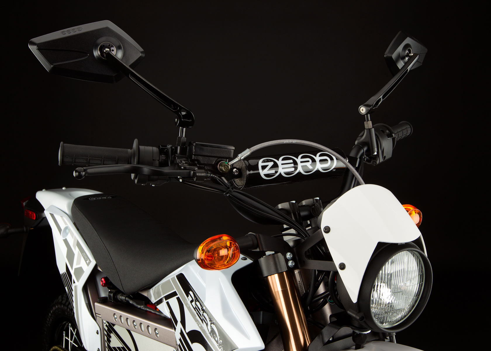 '.2012 Zero X Electric Motorcycle: Street Legal.'