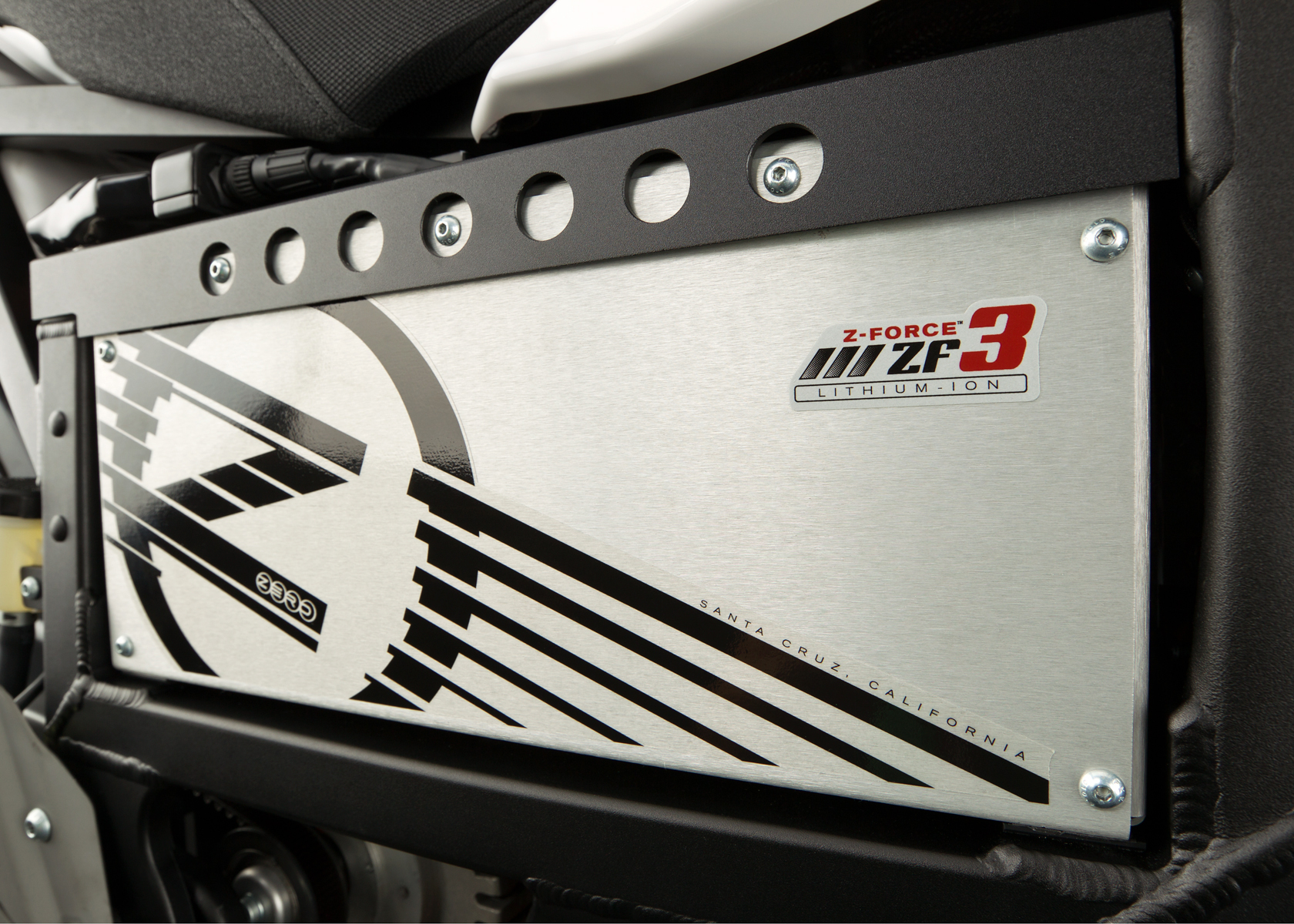 '.2012 Zero XU Electric Motorcycle: Battery.'