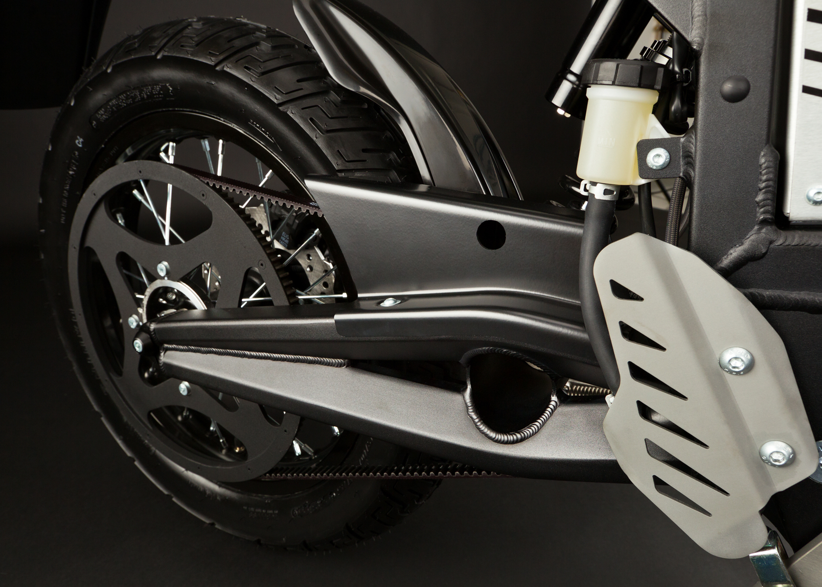 '.2012 Zero XU Electric Motorcycle: Drivetrain / Chain / Sprocket.'