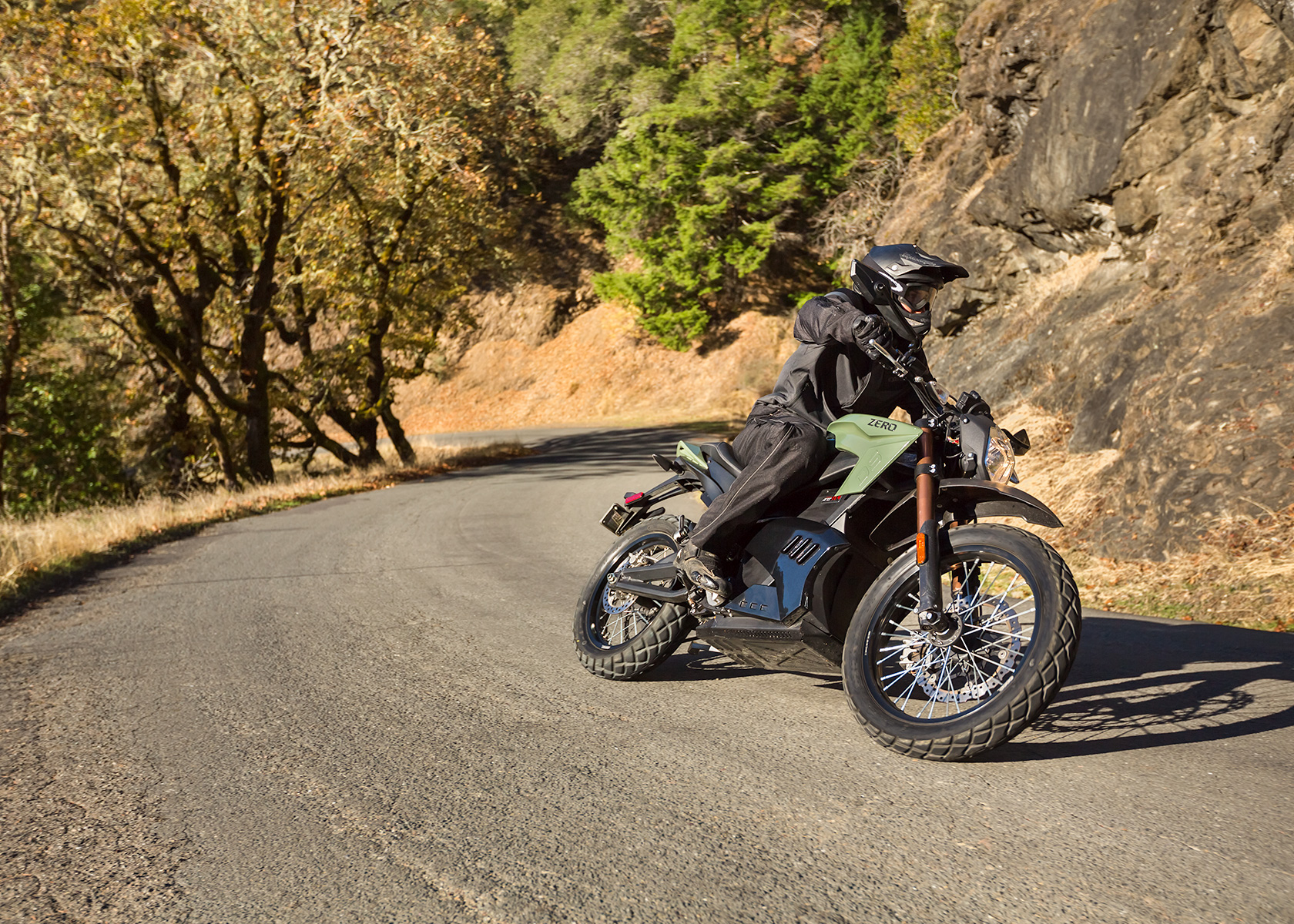 2013 Zero DS Electric Motorcycle: