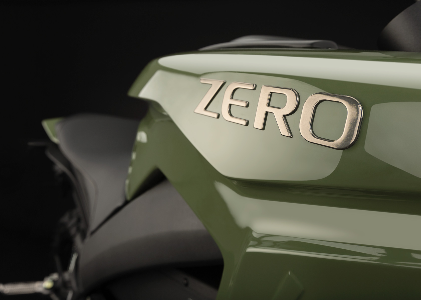 '.2013 Zero DS Electric Motorcycle: Tank.'