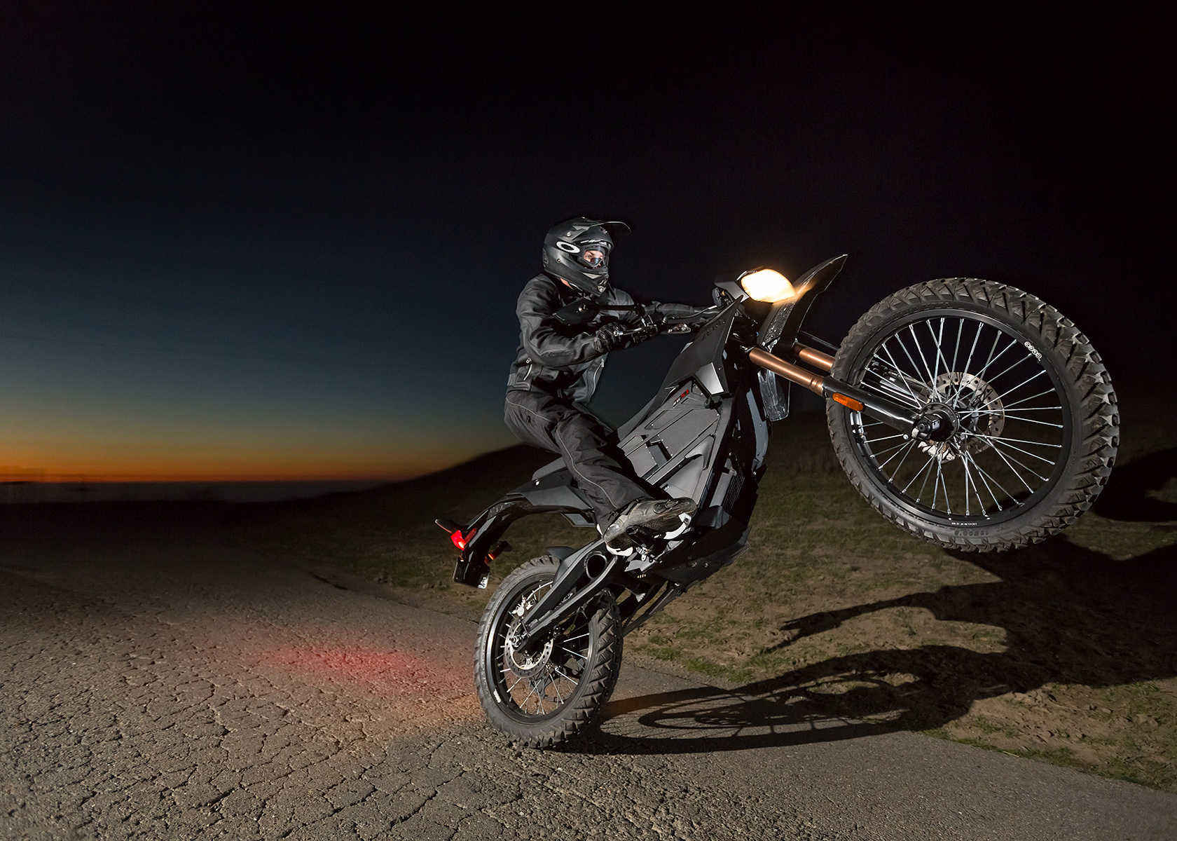 2013 Zero FX Electric Motorcycle: