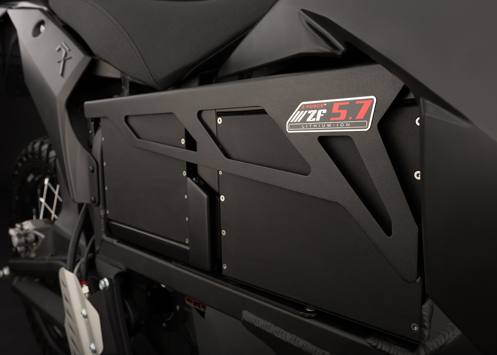 '.2013 Zero FX Electric Motorcycle: Battery.'