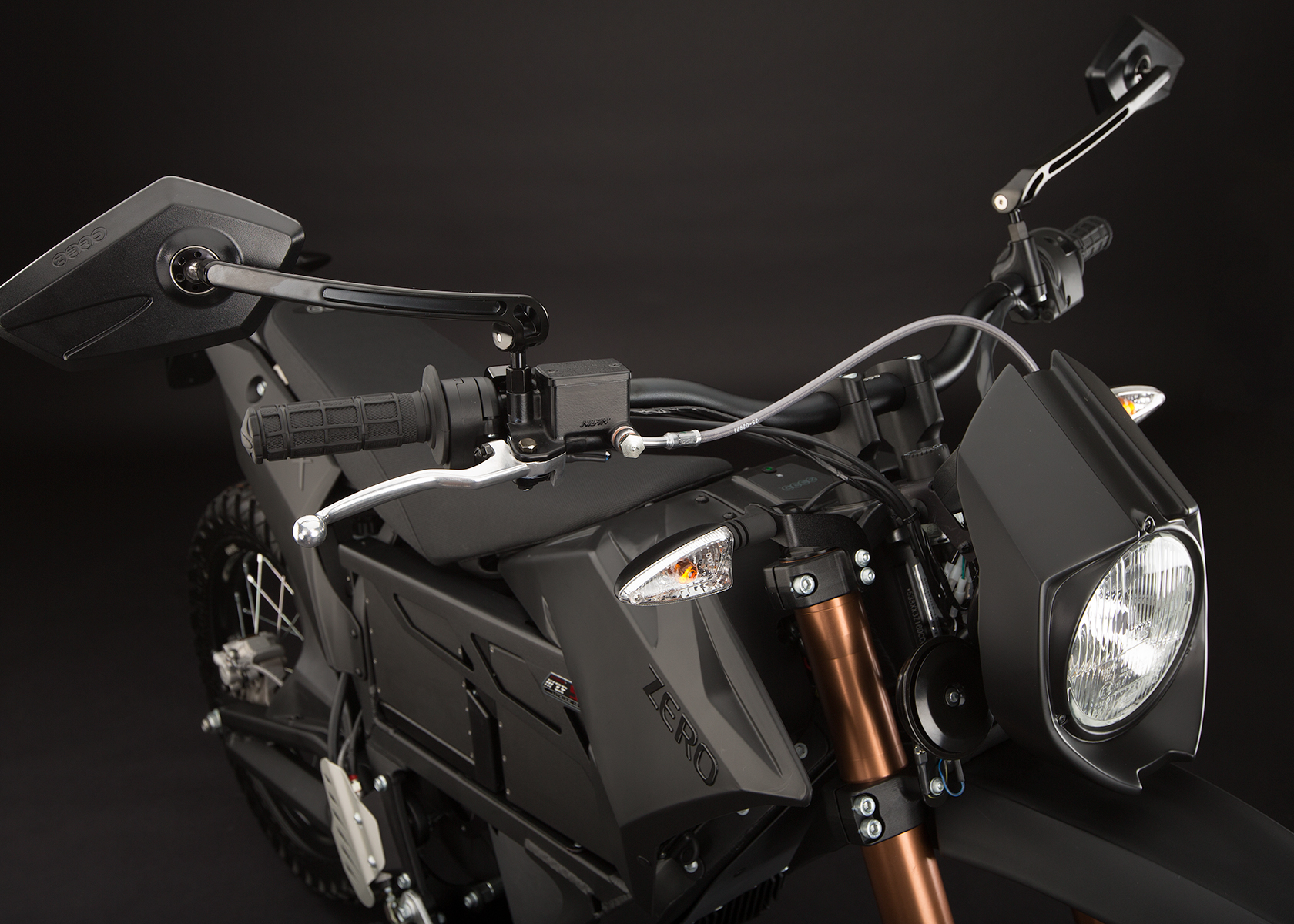 2013 Zero FX Electric Motorcycle: Street Legal