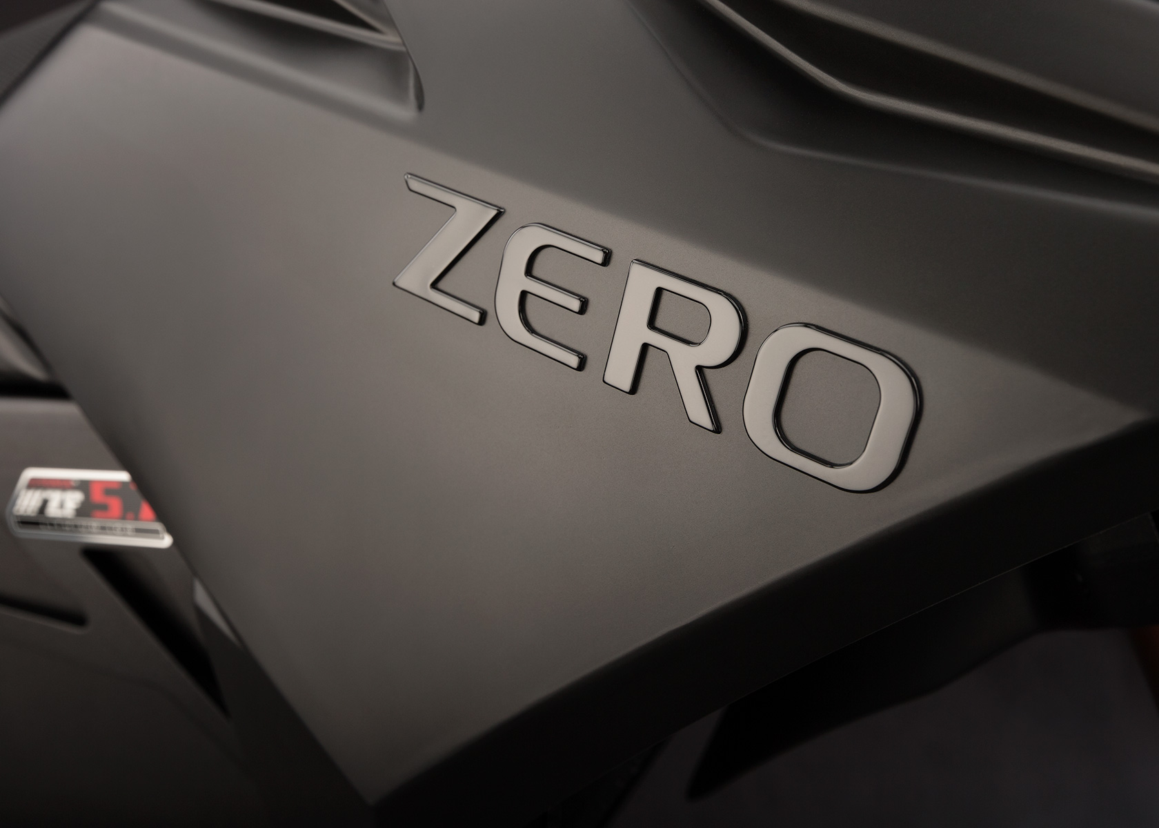 '.2013 Zero FX Electric Motorcycle: Tank.'