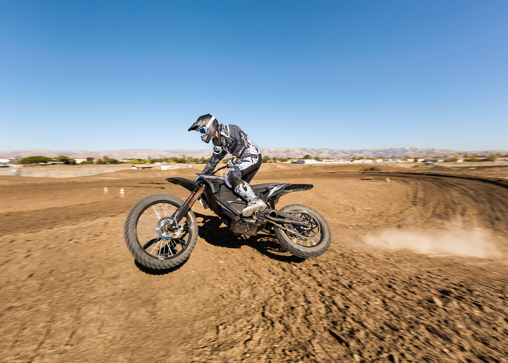 2013 Zero MX Electric Motorcycle: