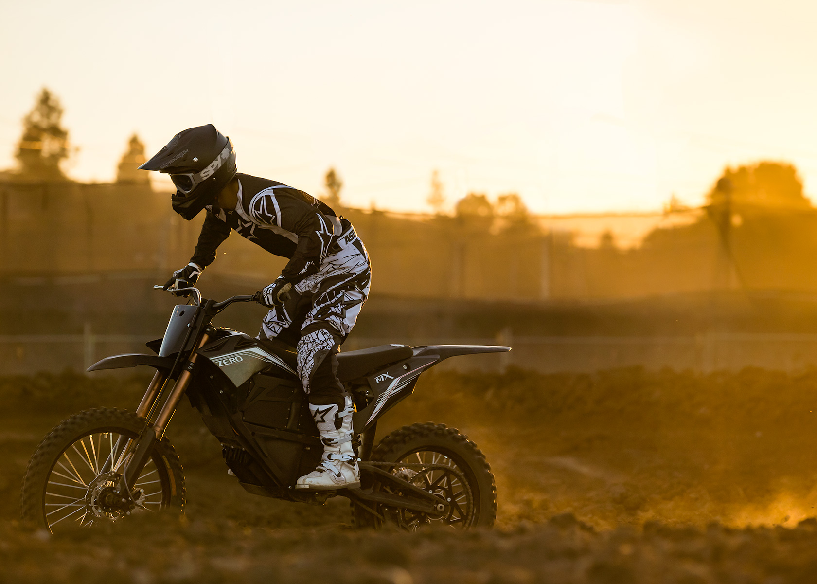 '.2013 Zero MX Electric Motorcycle: .'