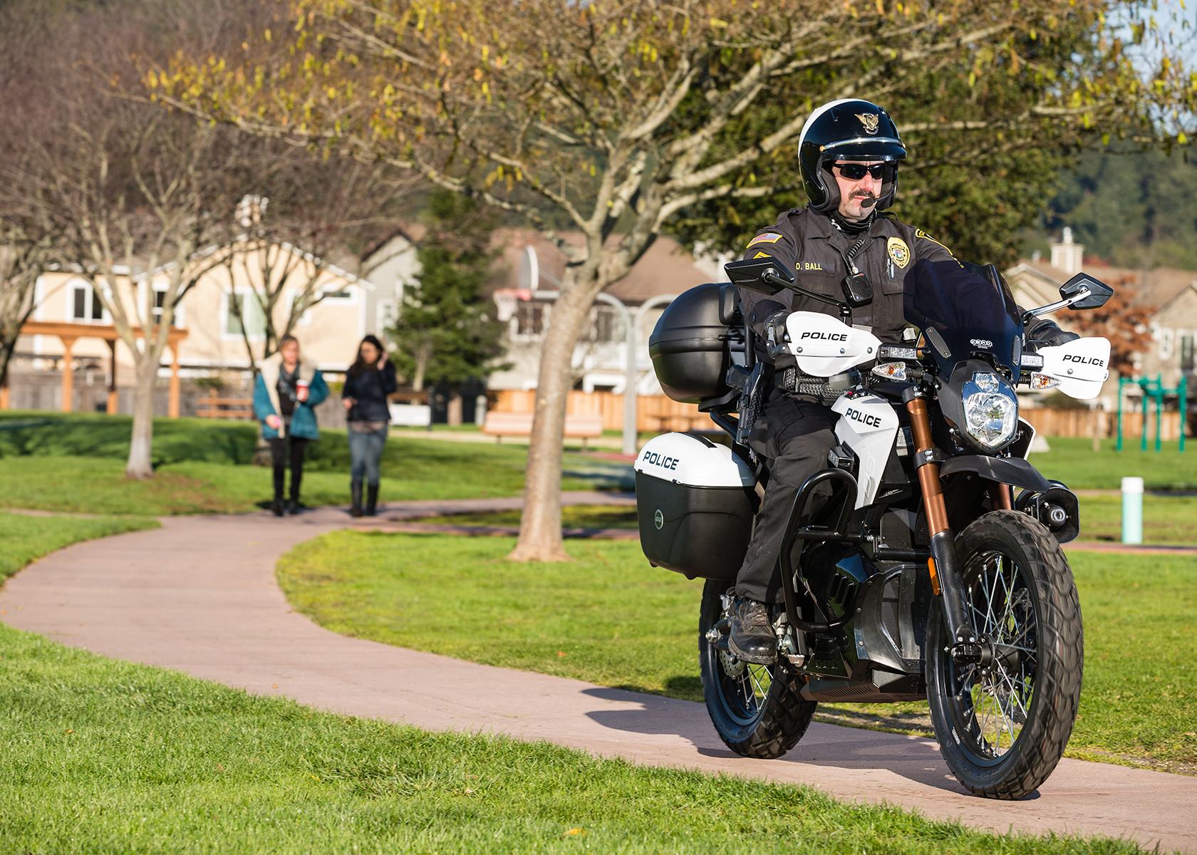 2013 Zero Police Electric Motorcycle: