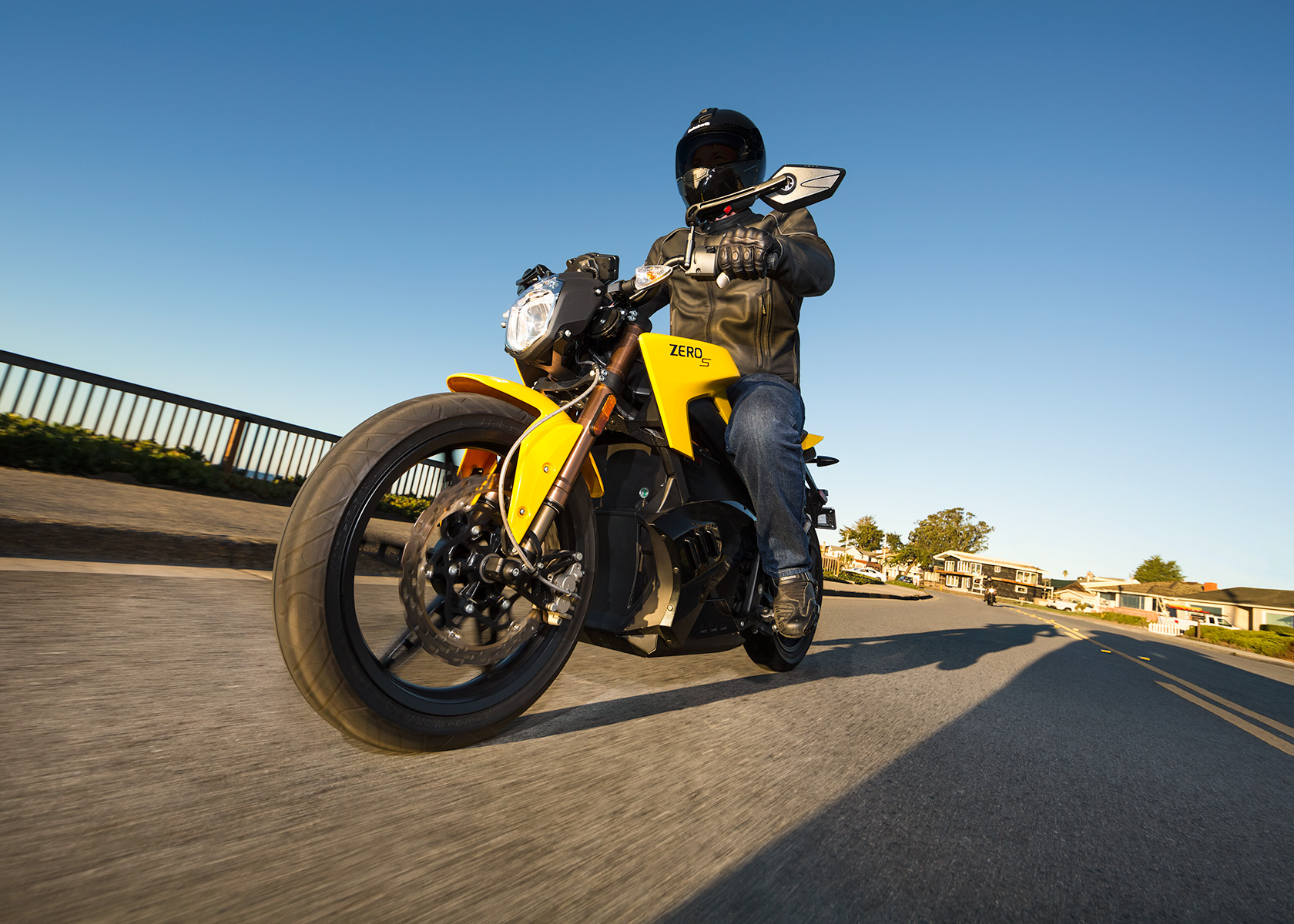 2013 Zero S Electric Motorcycle: