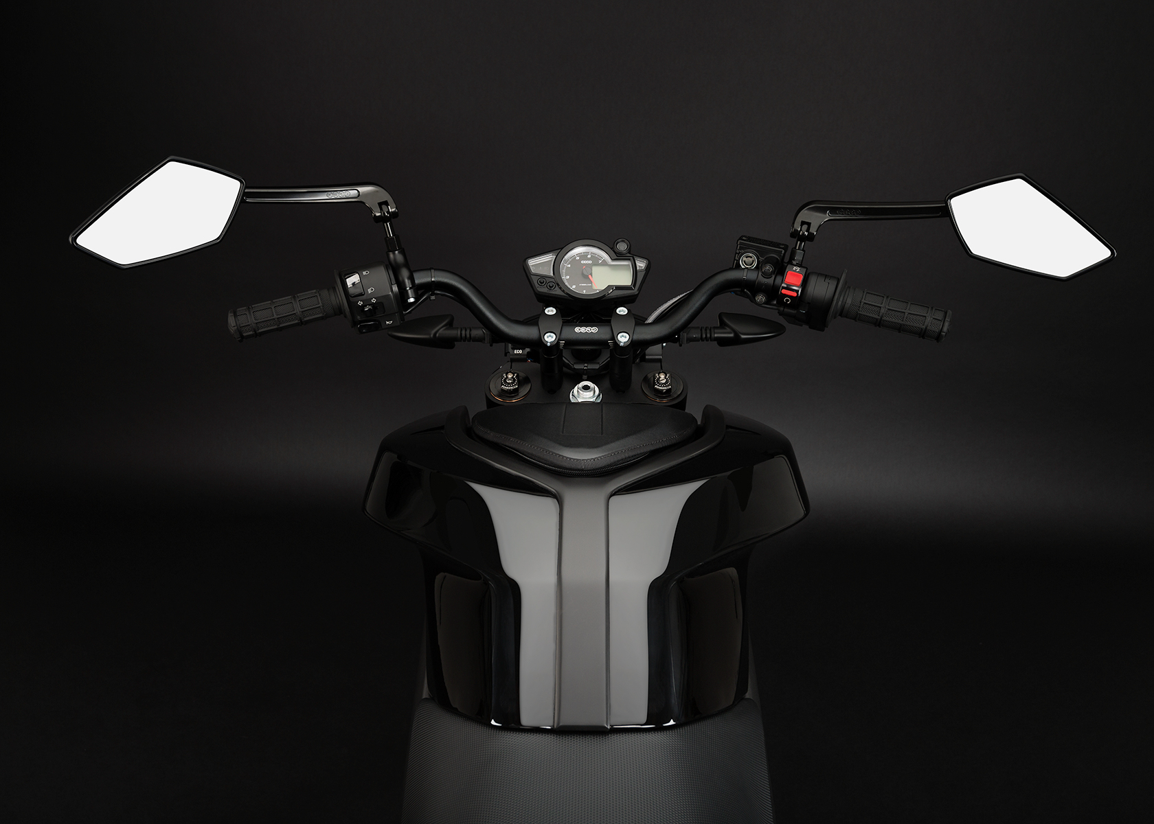 '.2013 Zero S Electric Motorcycle: Rider View.'