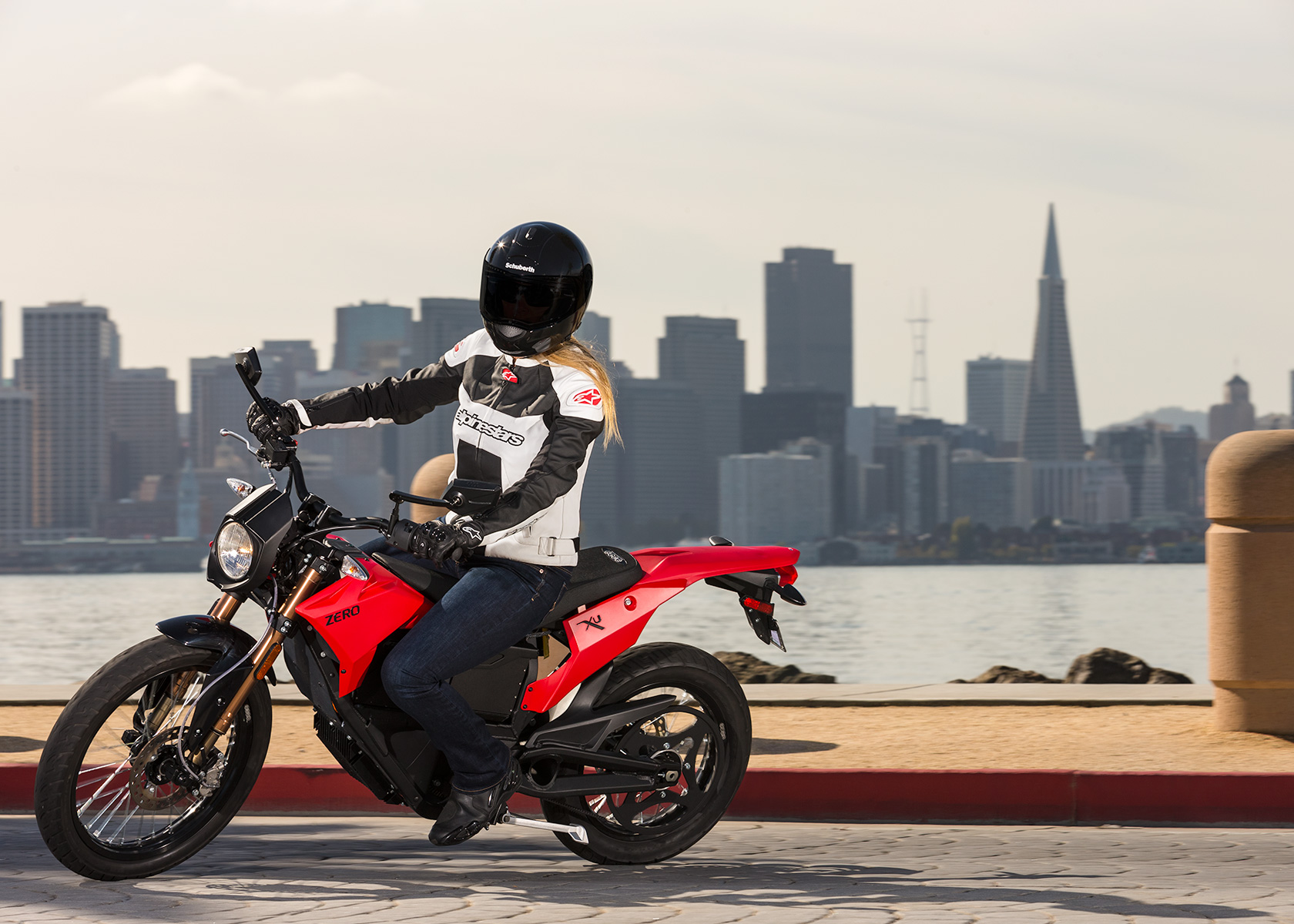 2013 Zero XU Electric Motorcycle: