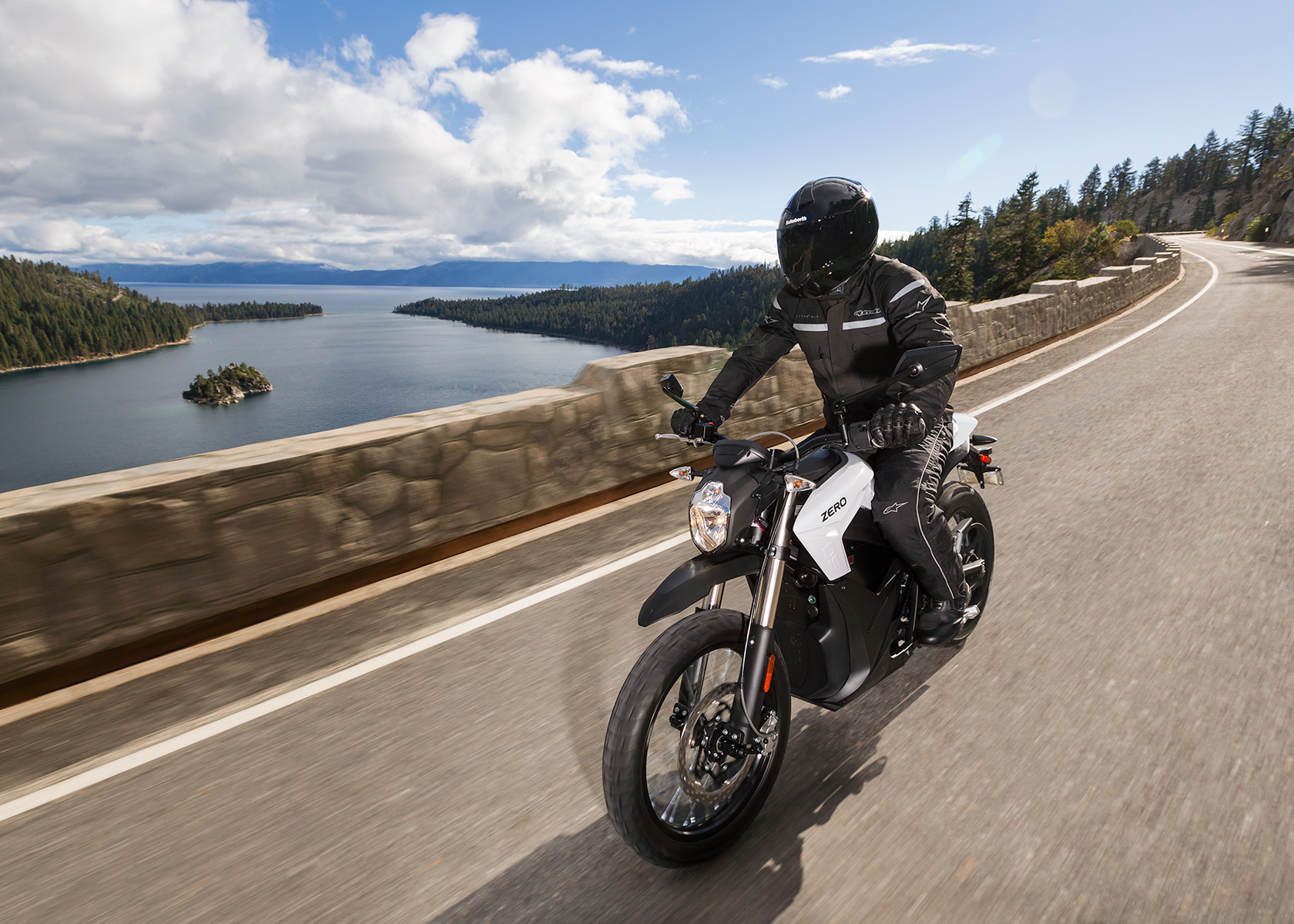 2014 Zero DS Electric Motorcycle: