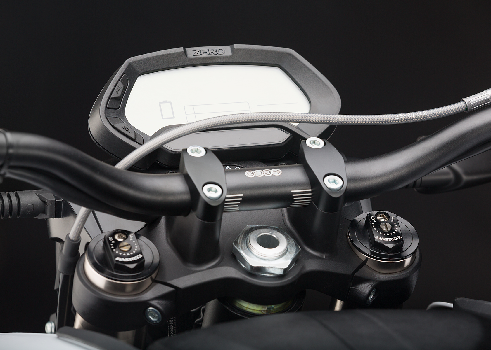 '.2014 Zero DS Electric Motorcycle: Dash.'