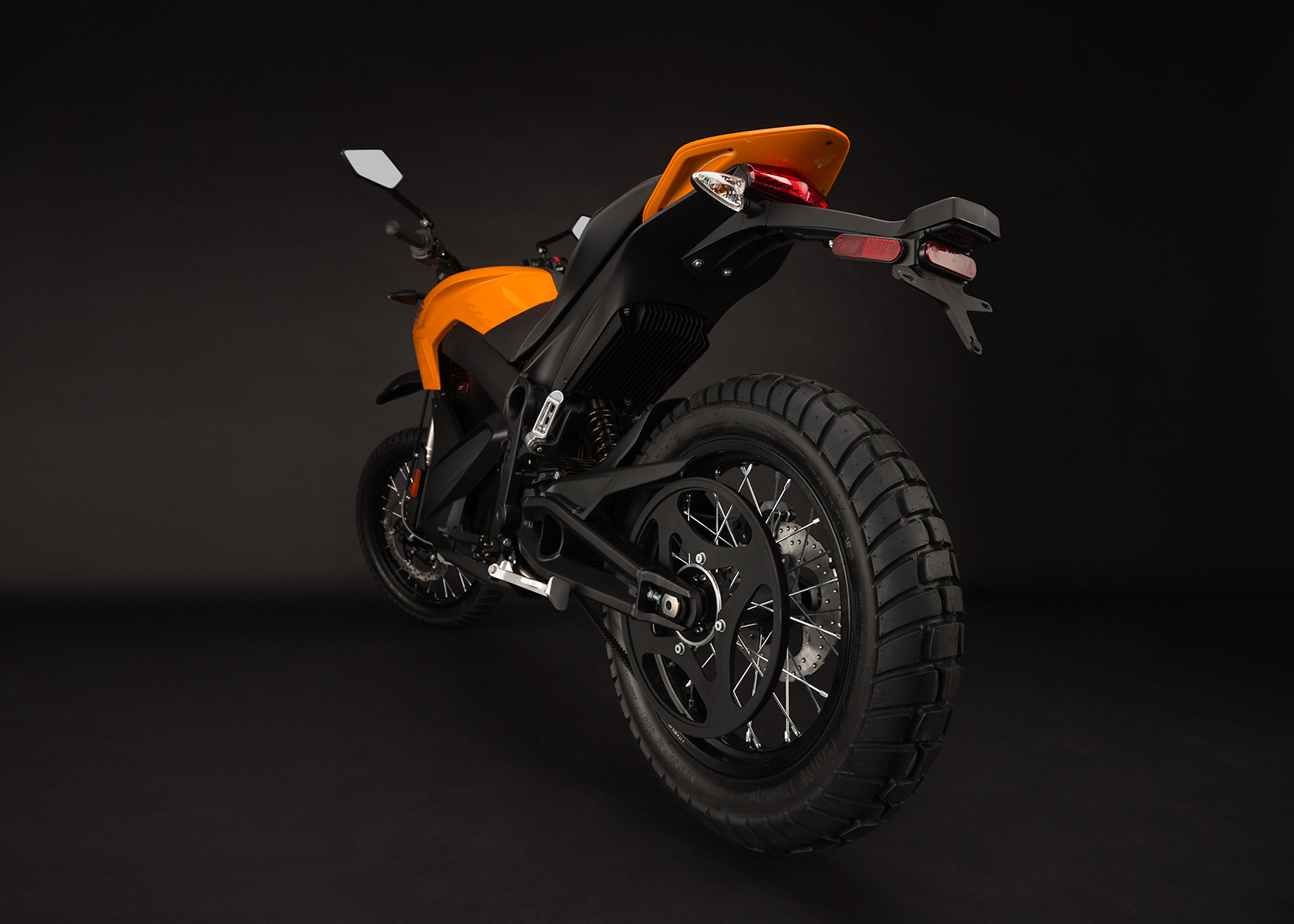 '.2014 Zero DS Electric Motorcycle: Belt Drive.'