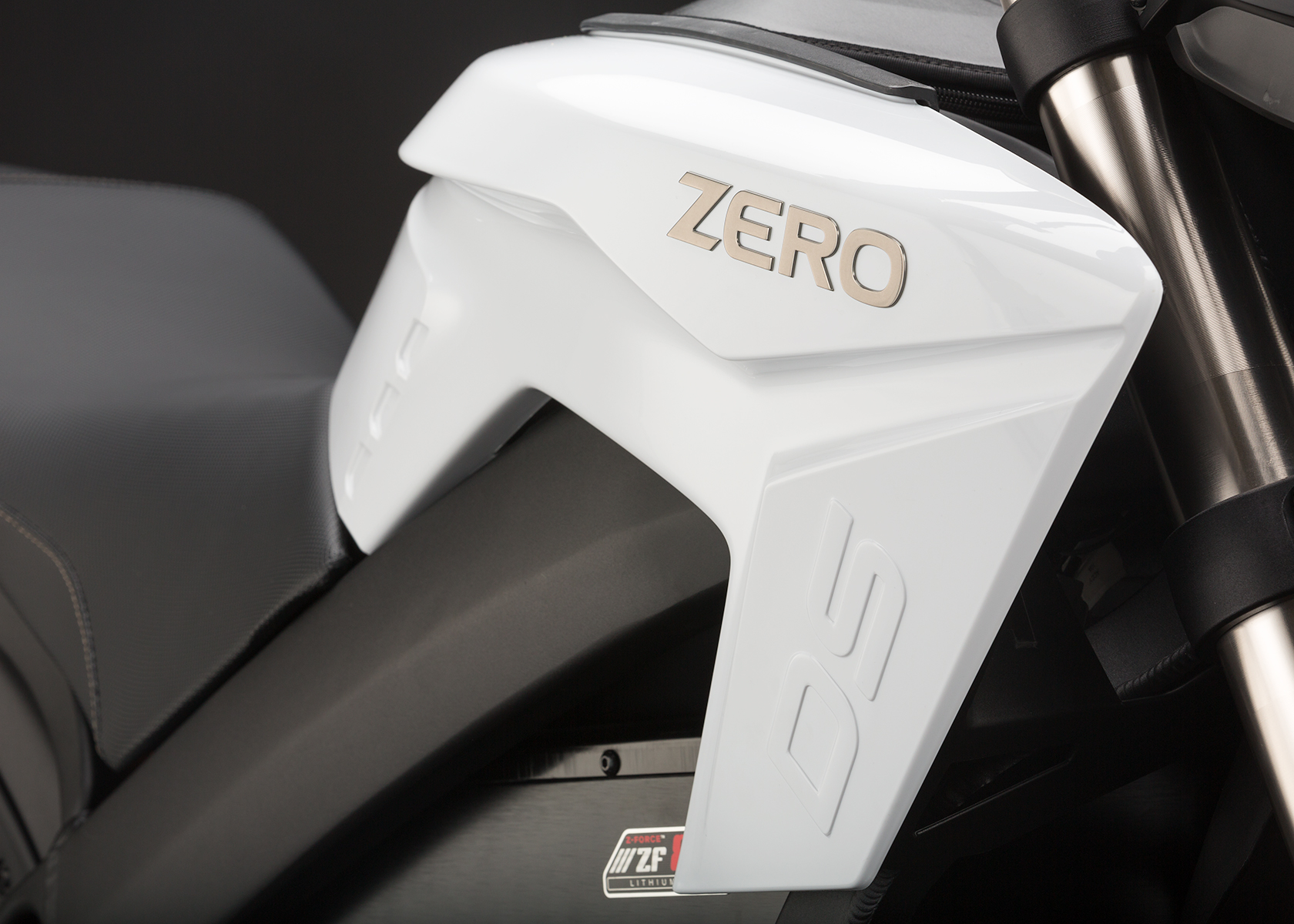 '.2014 Zero DS Electric Motorcycle: Tank.'