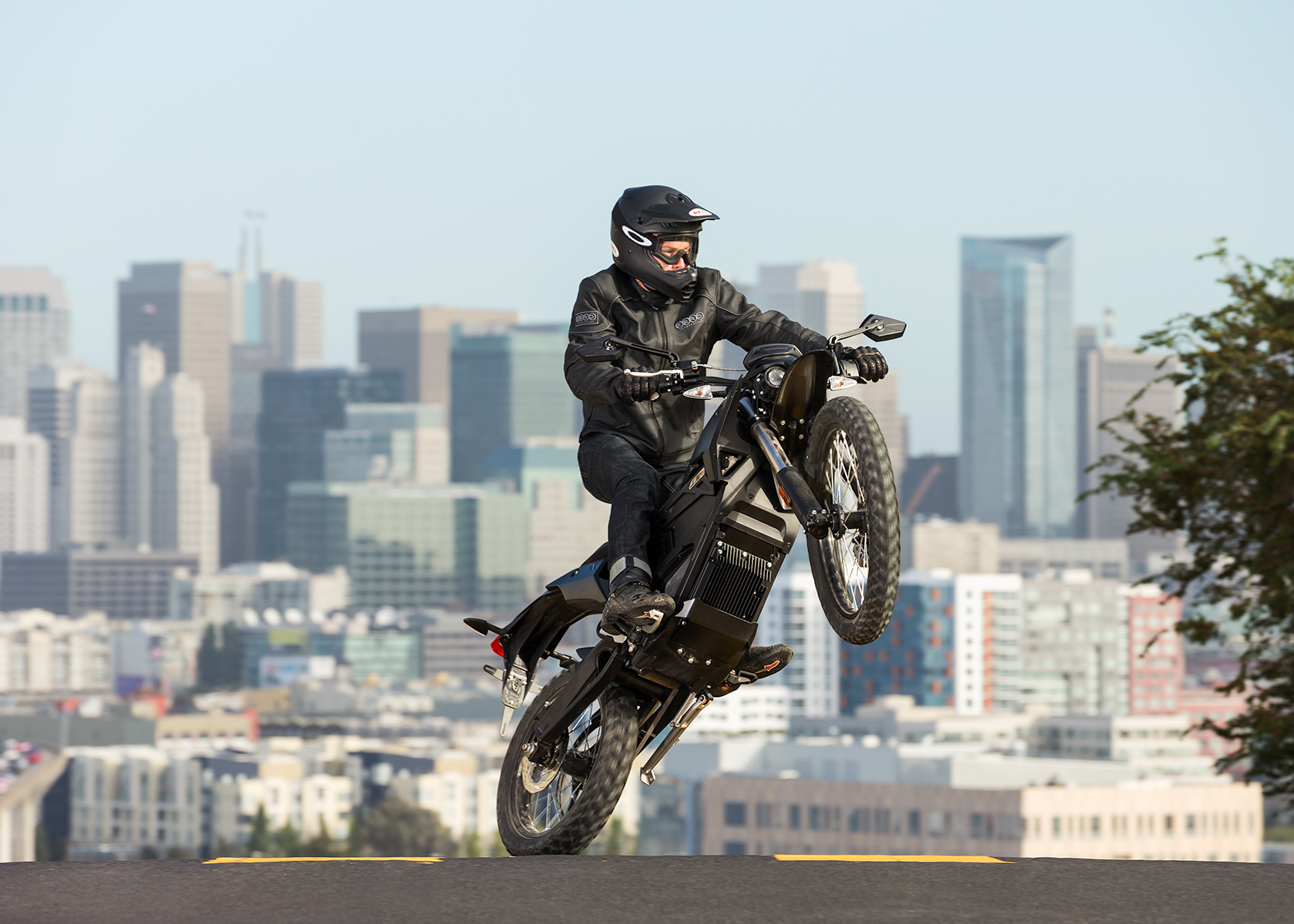 2014 Zero FX Electric Motorcycle: