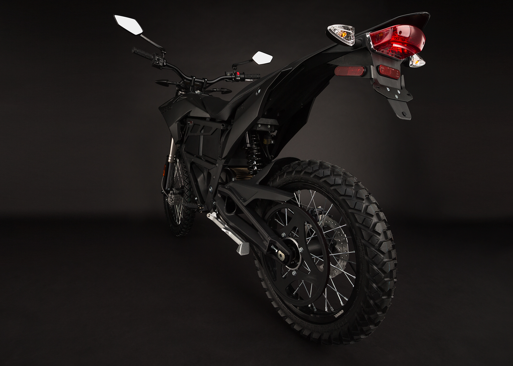 '.2014 Zero FX Electric Motorcycle: Belt Drive.'
