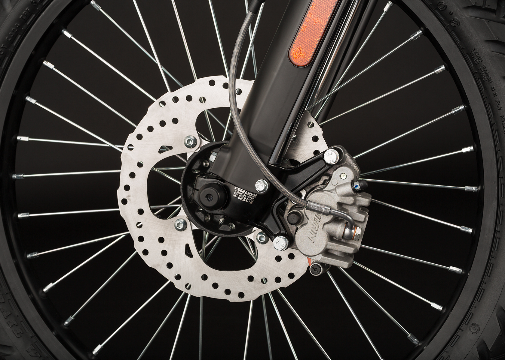 2014 Zero FX Electric Motorcycle: Front Brake