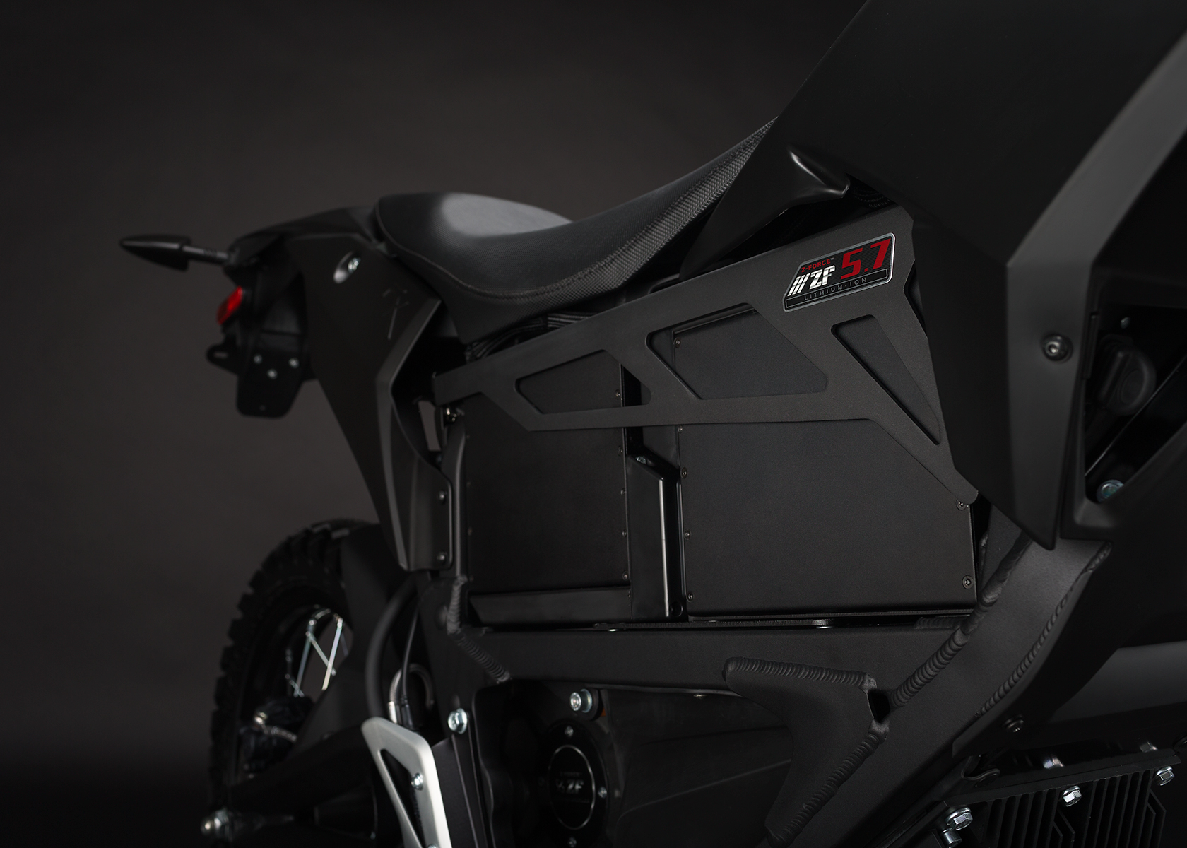 '.2014 Zero FX Electric Motorcycle: Power Pack.'