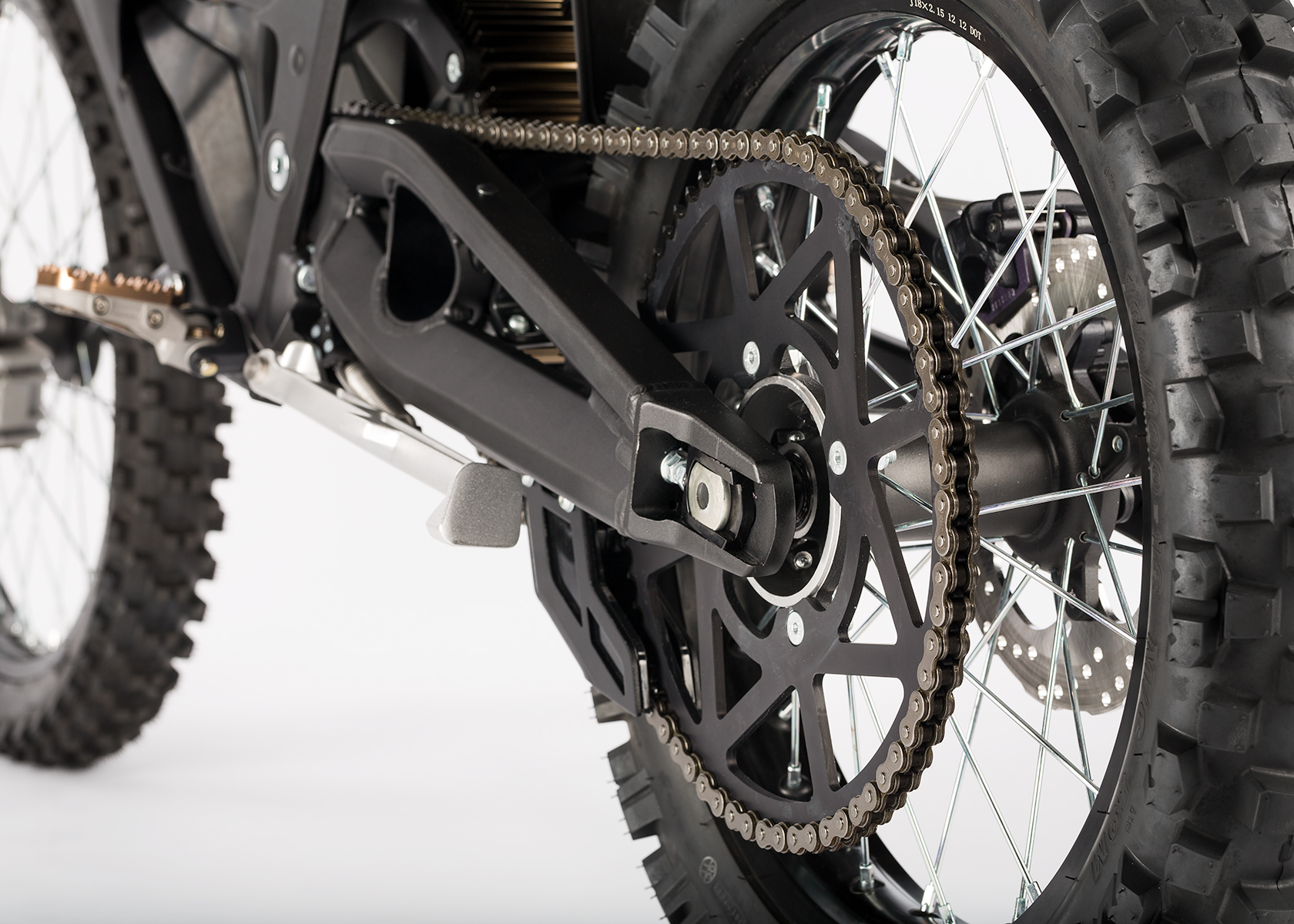 2014 Zero Police Electric Motorcycle: Chain