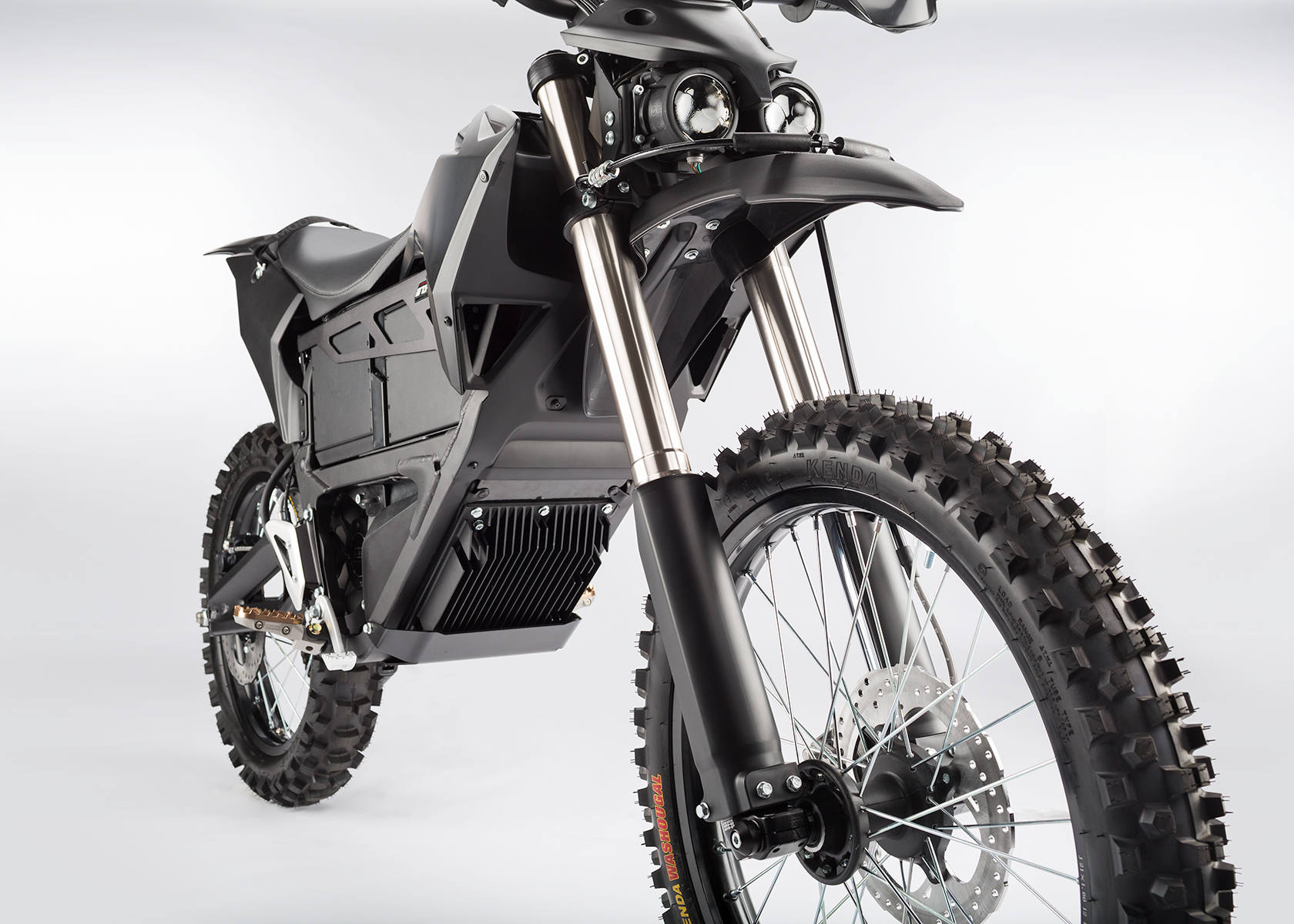 2014 Zero Police Electric Motorcycle: Front Fork