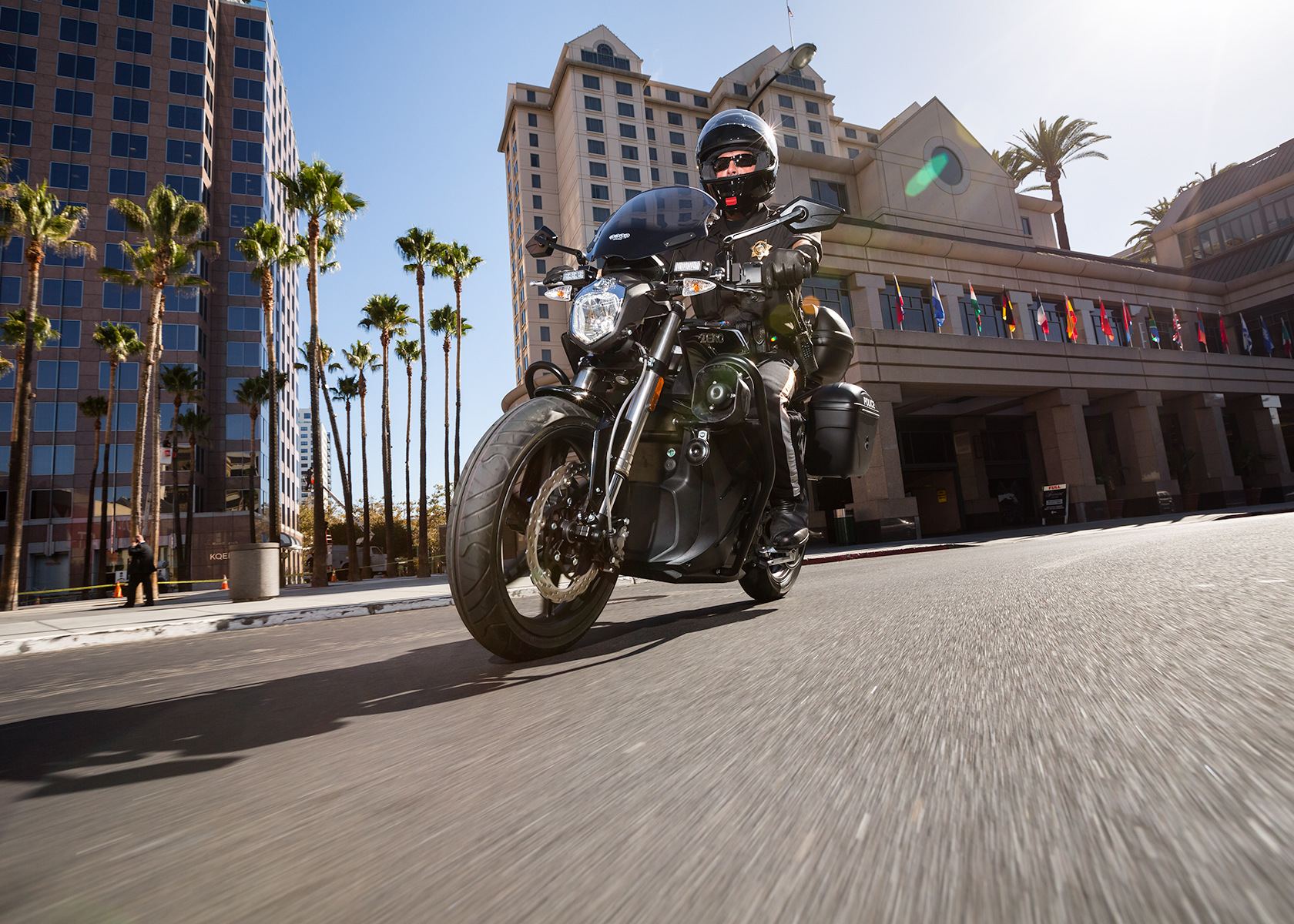 2014 Zero Police Electric Motorcycle:
