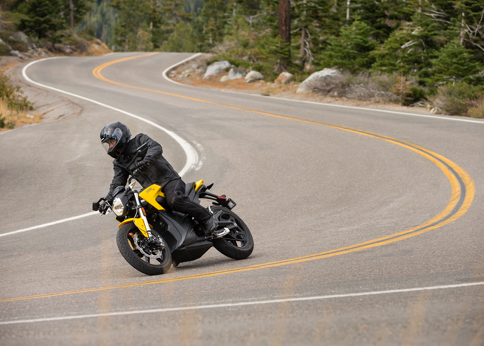 2014 Zero S Electric Motorcycle: