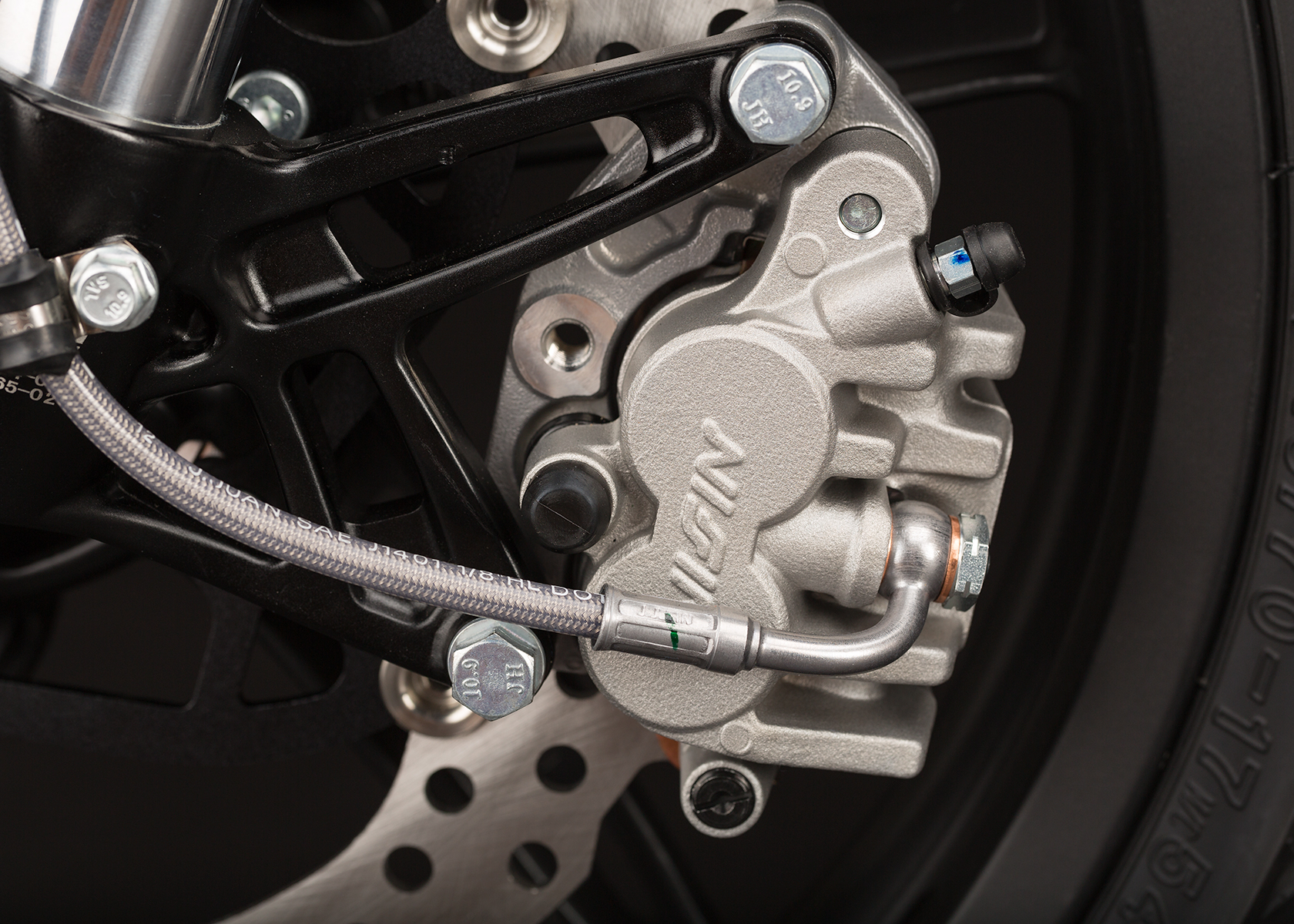 2014 Zero S Electric Motorcycle: Front brake