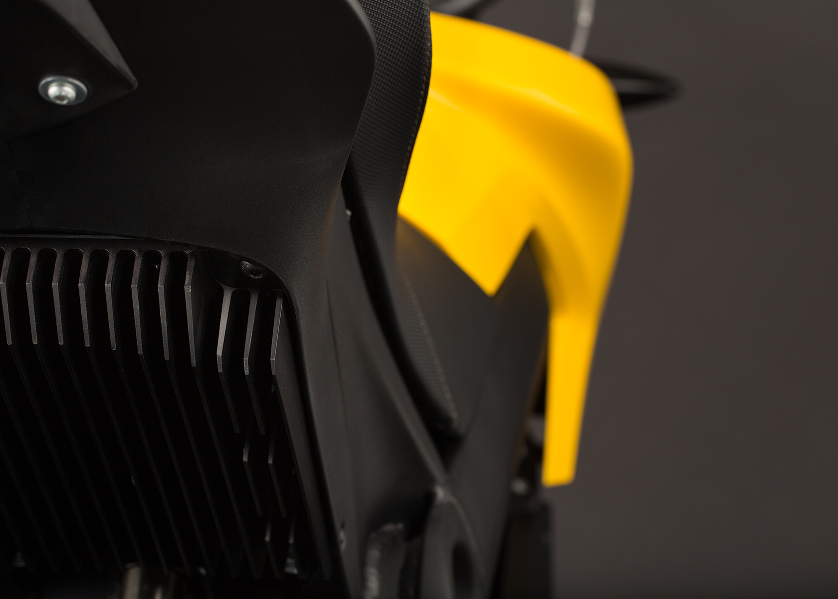 '.2014 Zero S Electric Motorcycle: Heatsink.'