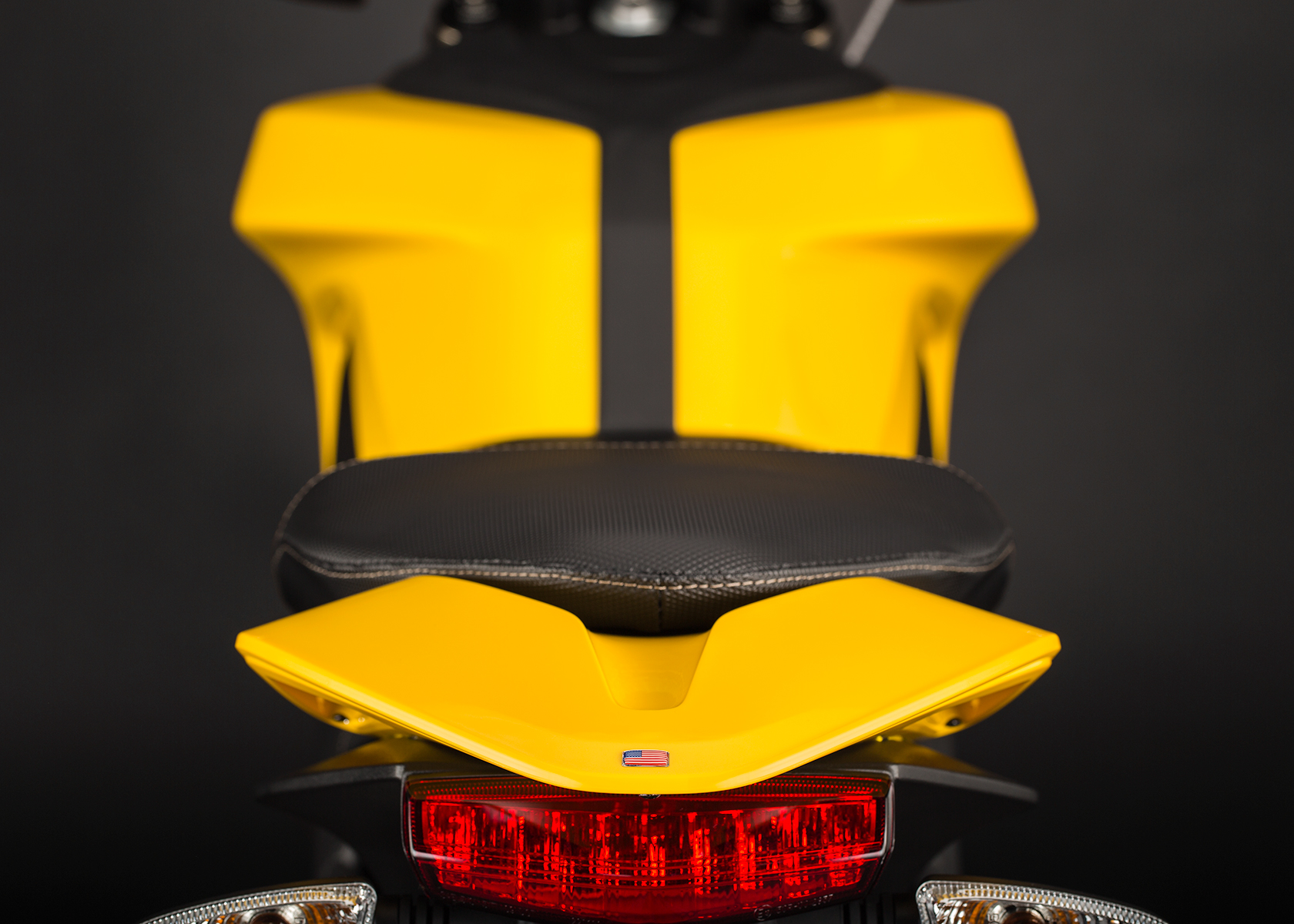 '.2014 Zero S Electric Motorcycle: Tail.'