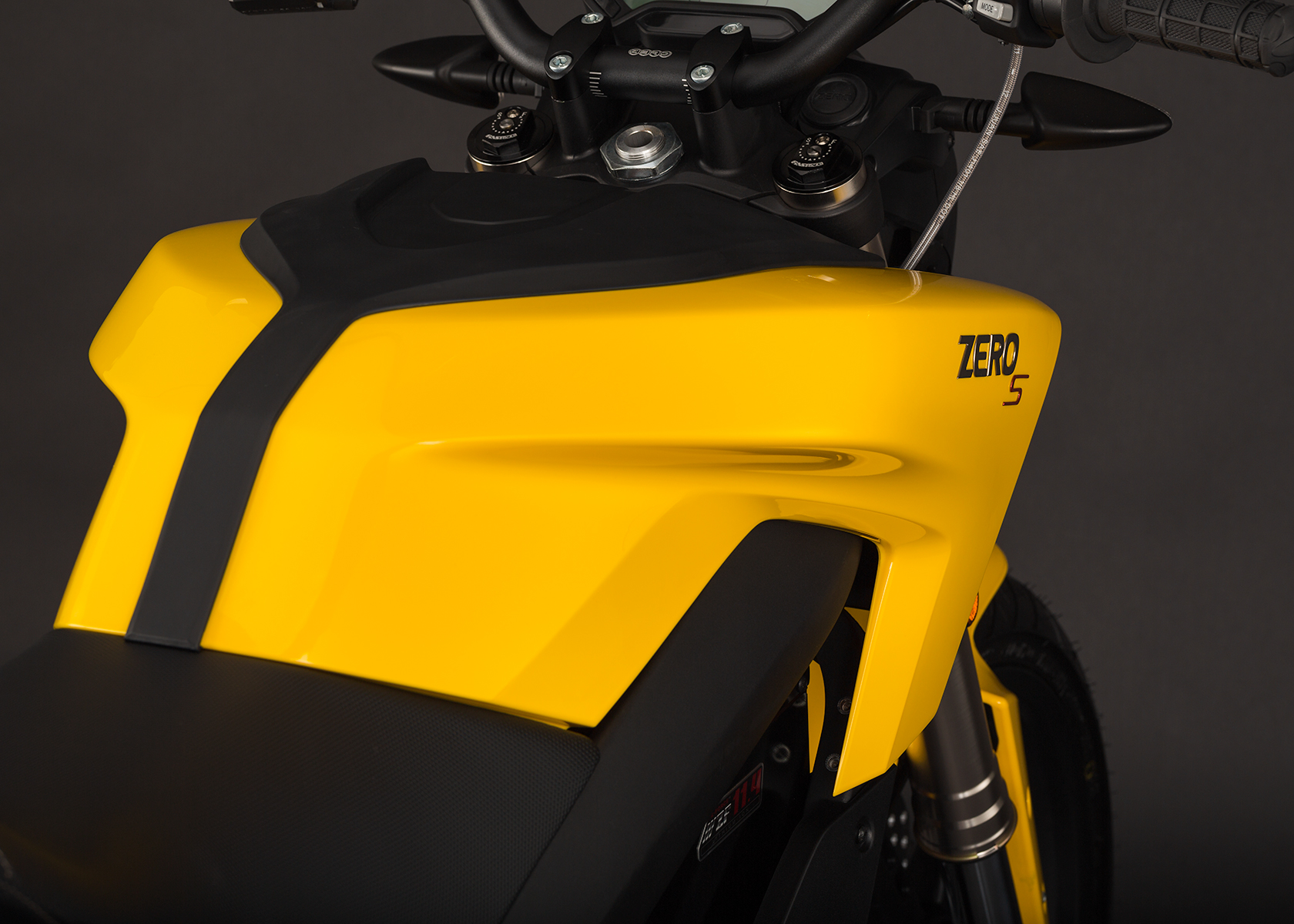 2014 Zero S Electric Motorcycle: Tank