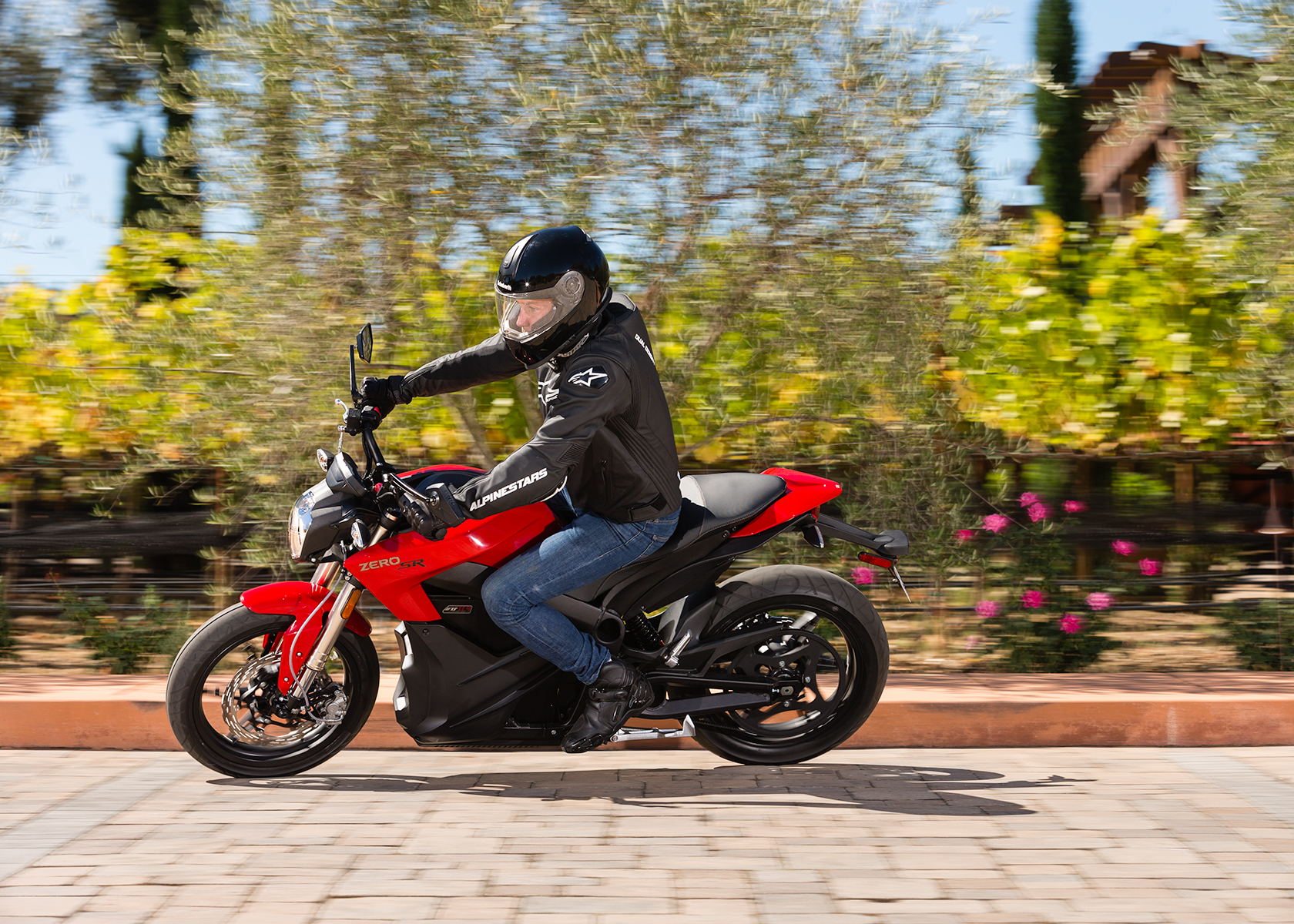 2014 Zero SR Electric Motorcycle: