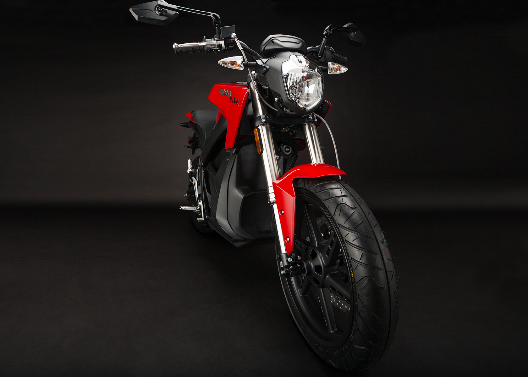 '.2014 Zero SR Electric Motorcycle: Front Fork.'