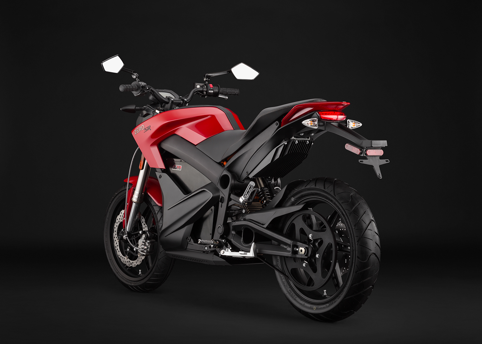 2014 Zero SR Electric Motorcycle: Angle Left