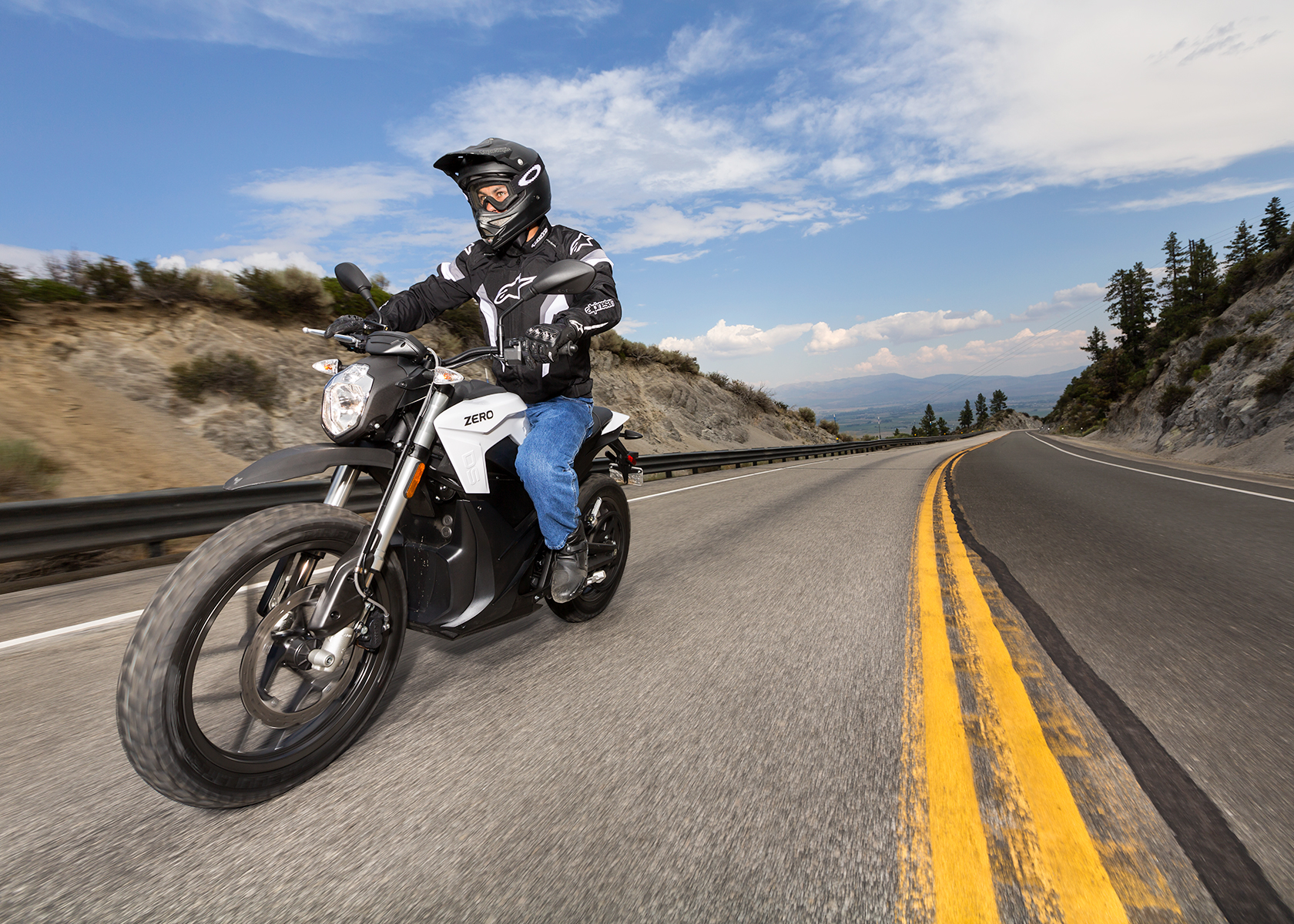 2015 Zero DS Electric Motorcycle: