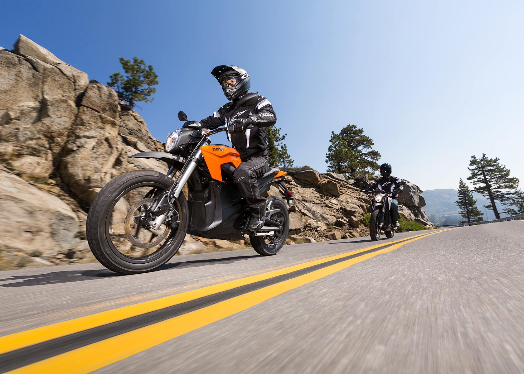 2015 Zero DS Electric Motorcycle: