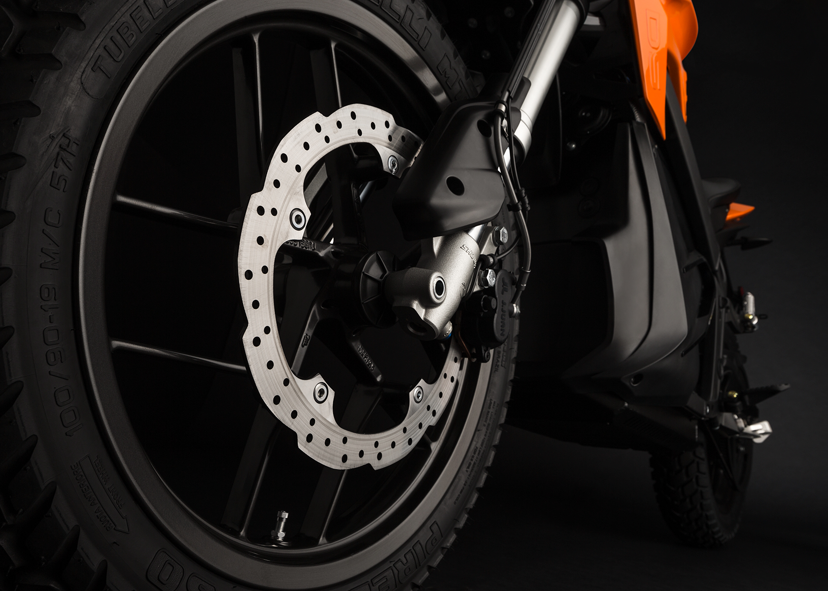 2015 Zero DS Electric Motorcycle: Front Brake