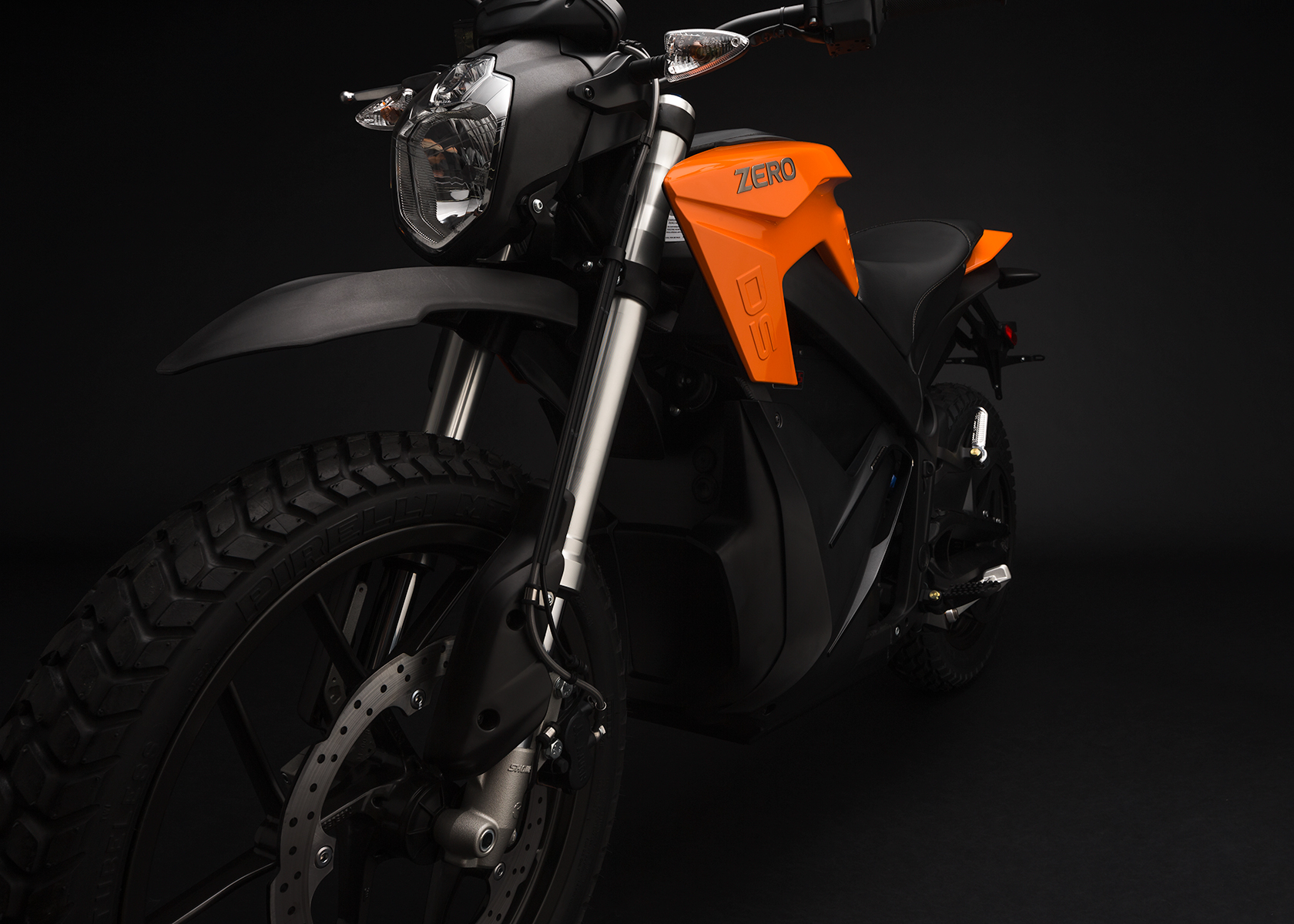 2015 Zero DS Electric Motorcycle: Front Fork