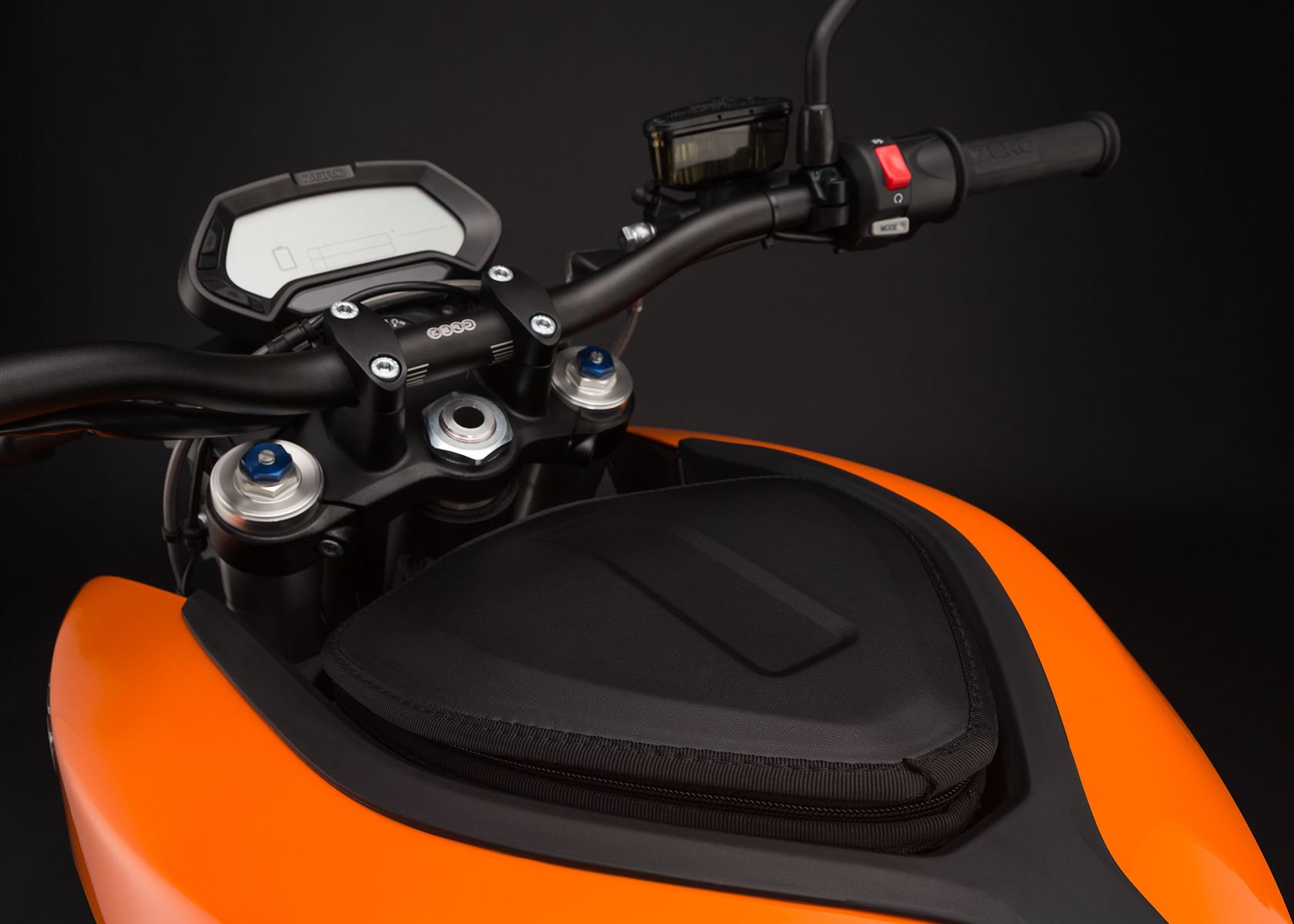 2015 Zero DS Electric Motorcycle: Power Tank