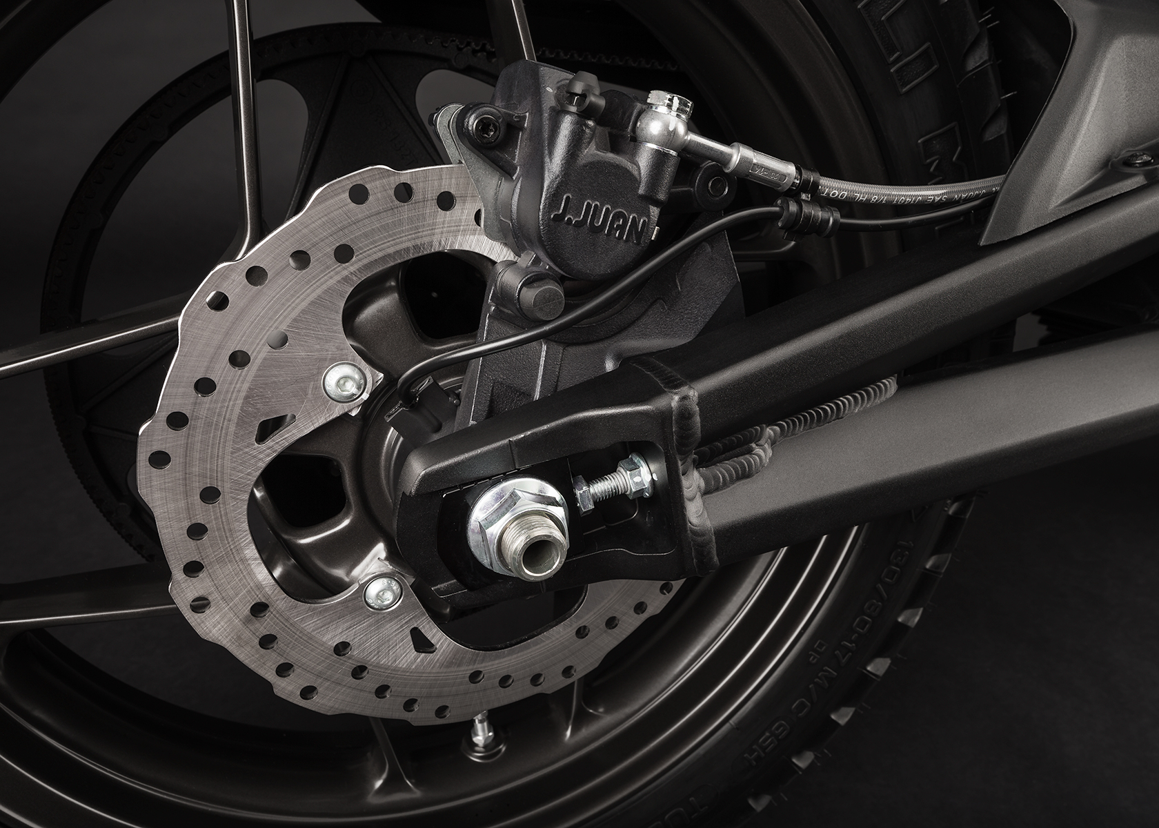 2015 Zero DS Electric Motorcycle: Rear Brake