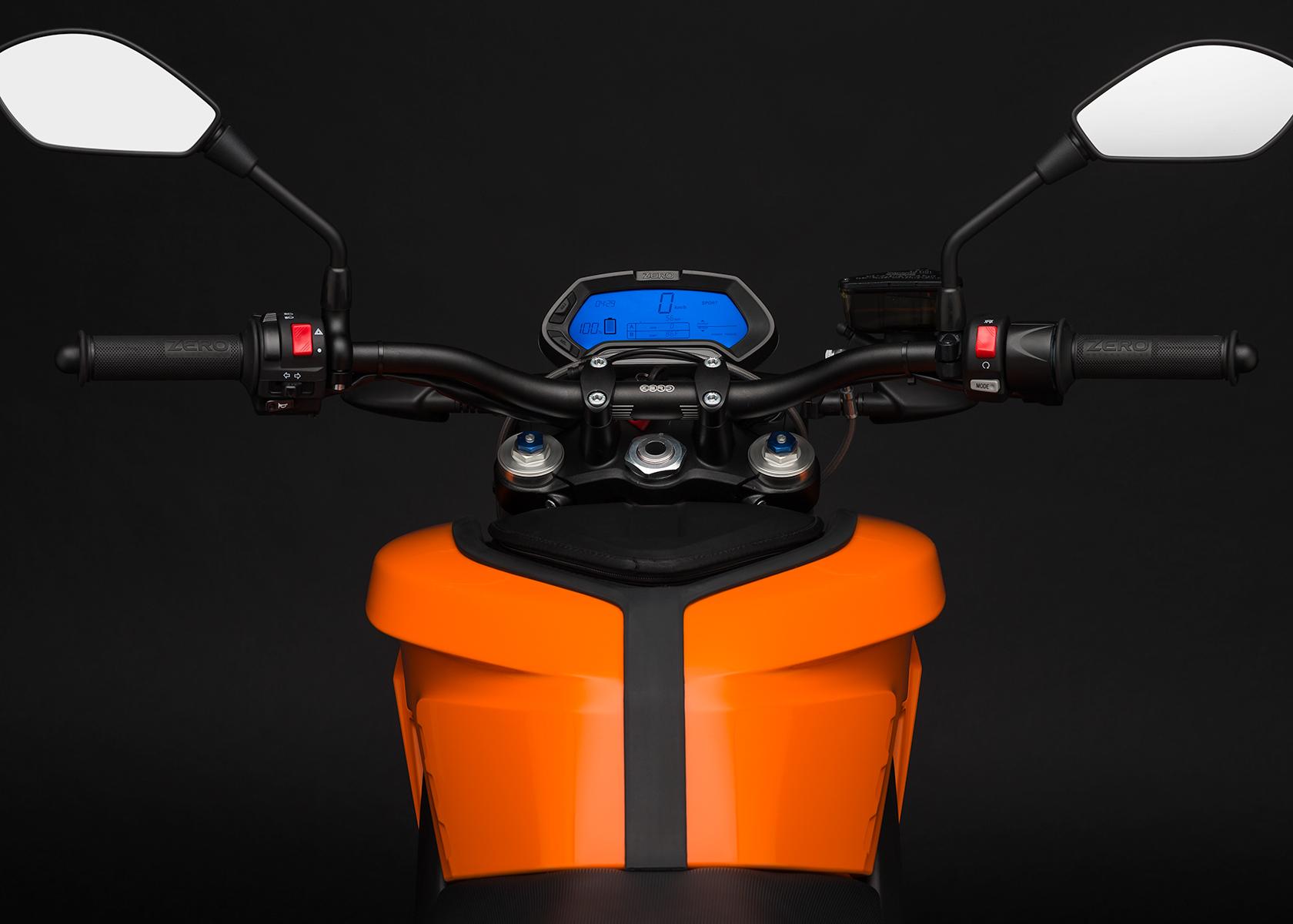 2015 Zero DS Electric Motorcycle: Dash